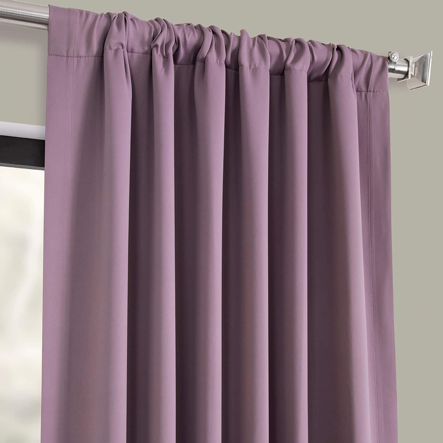 Purple Rain Blackout Room Darkening Curtain