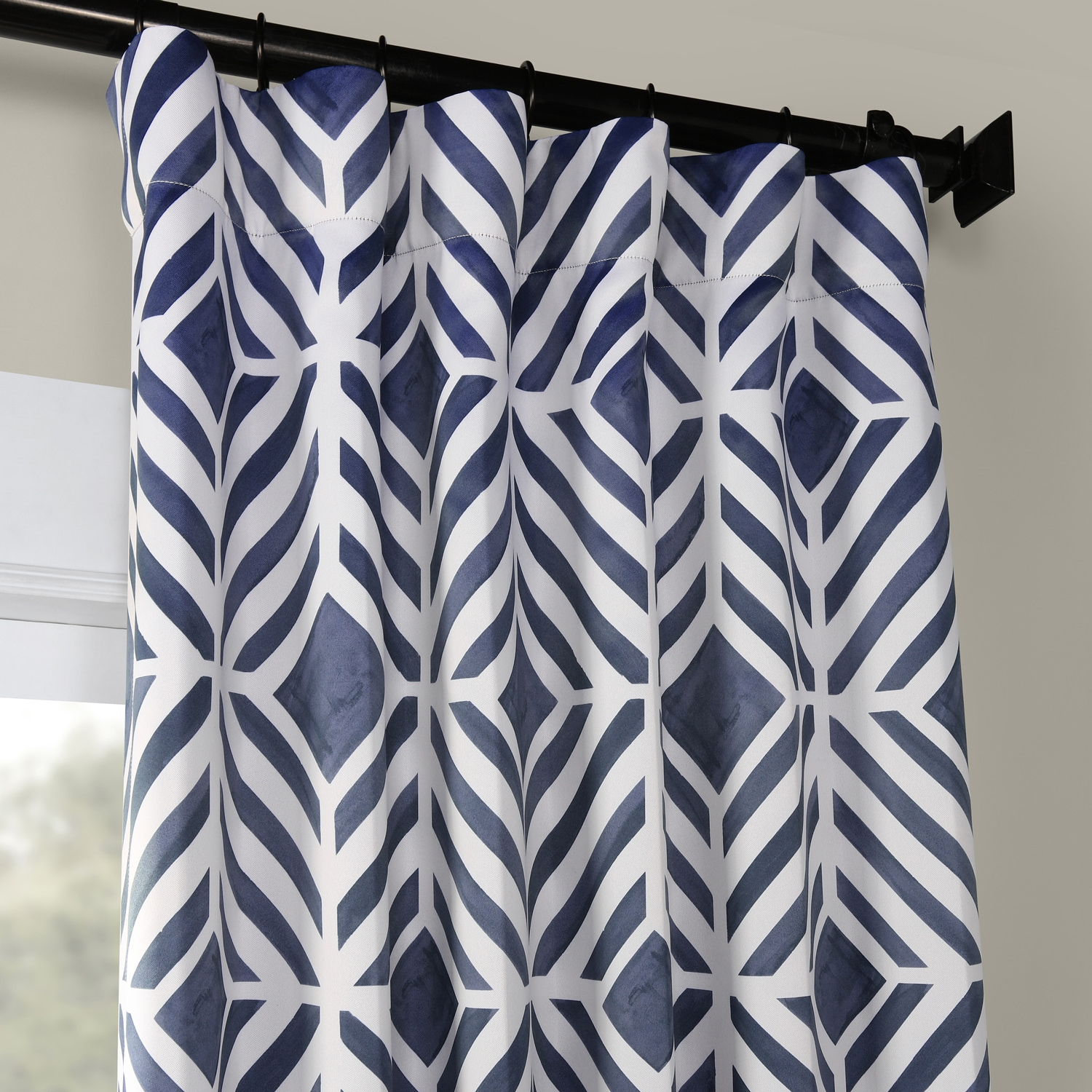Palisade Blue Blackout Room Darkening Curtain