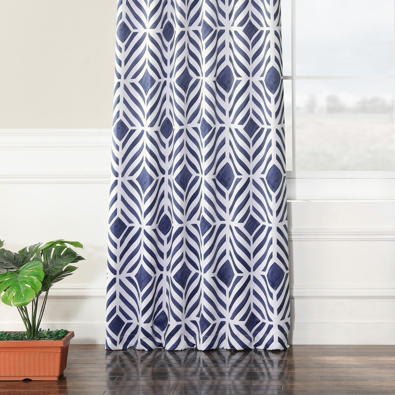 Palisade Blue Blackout Curtain