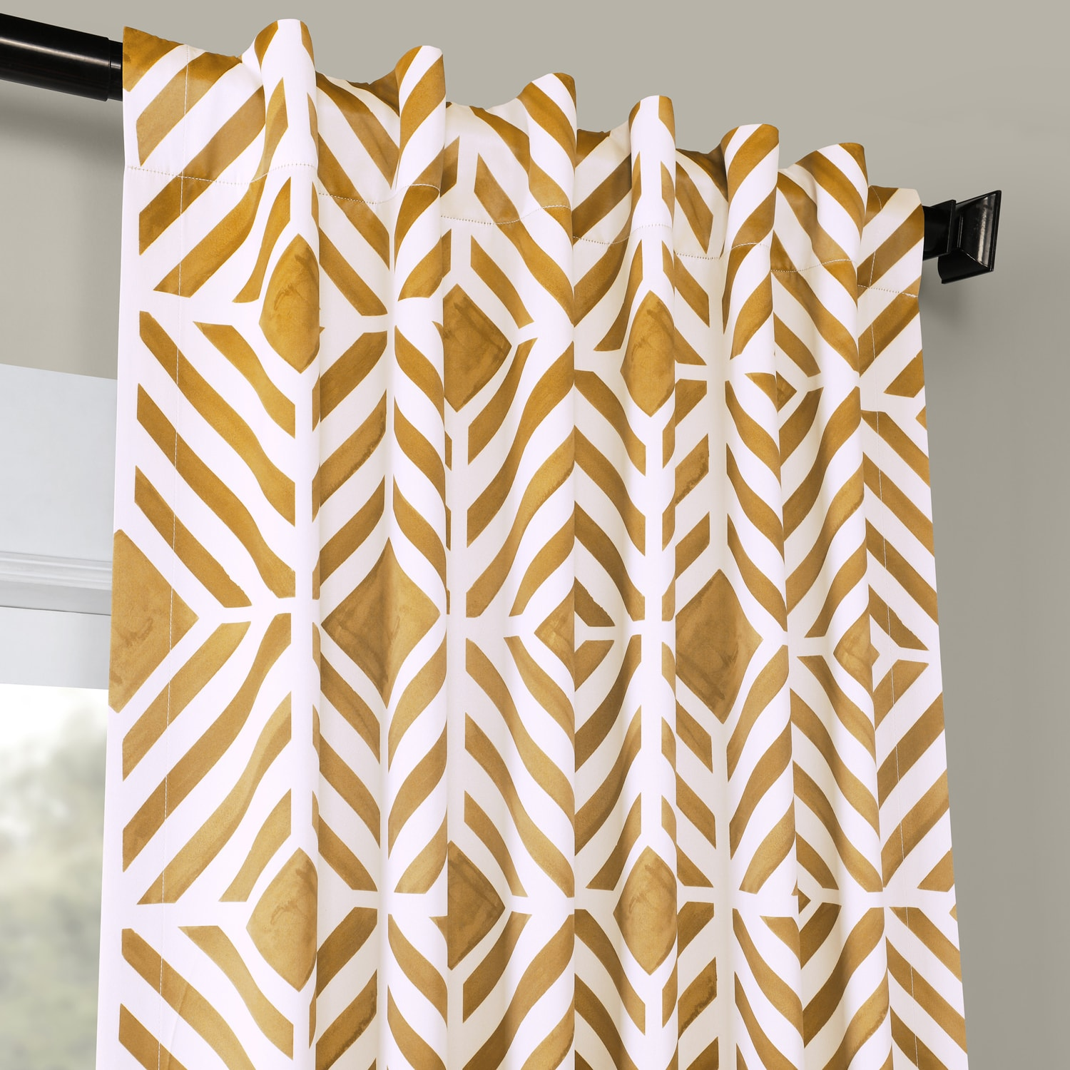 Palisade Gold Blackout Curtain