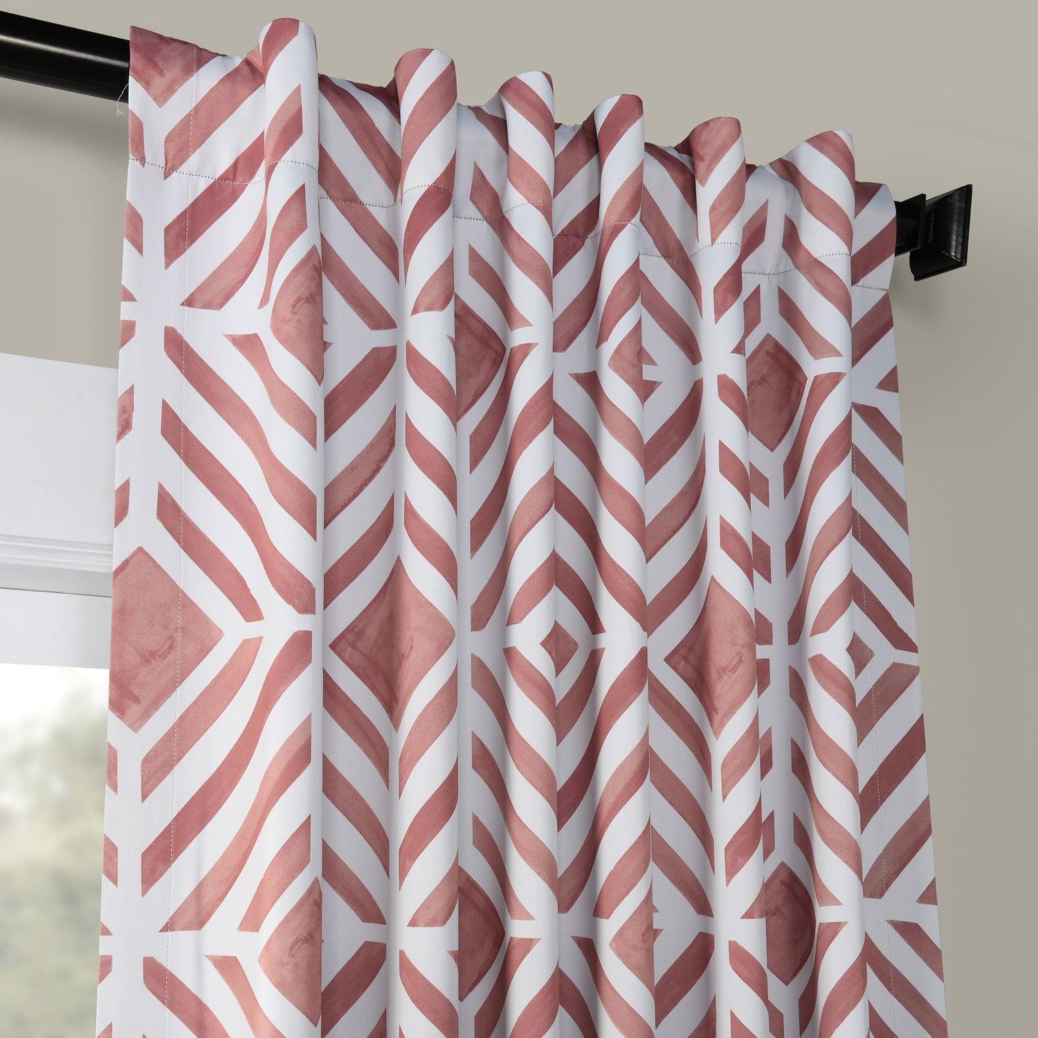 Palisade Rose Blackout Room Darkening Curtain
