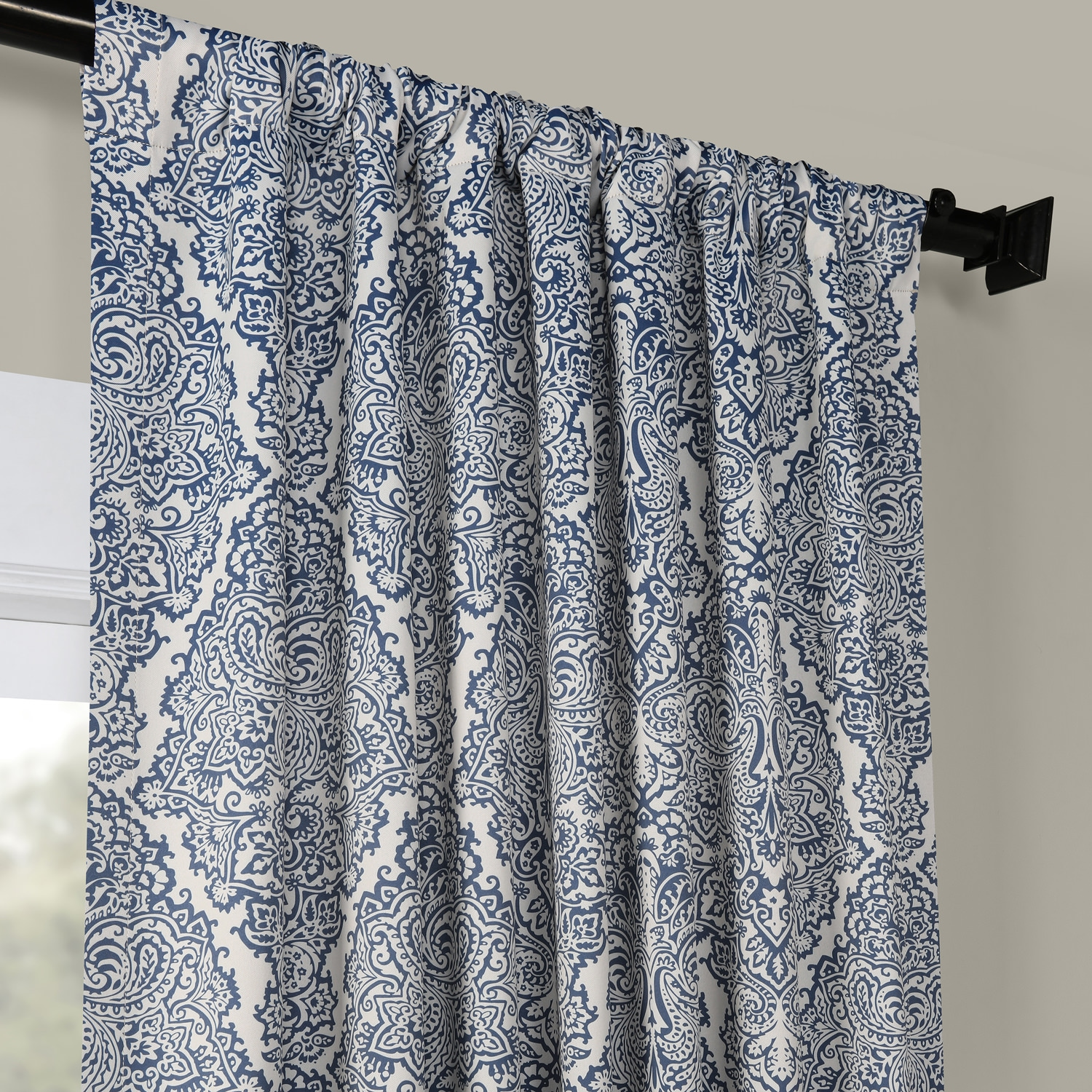Amara Blue Blackout Curtain