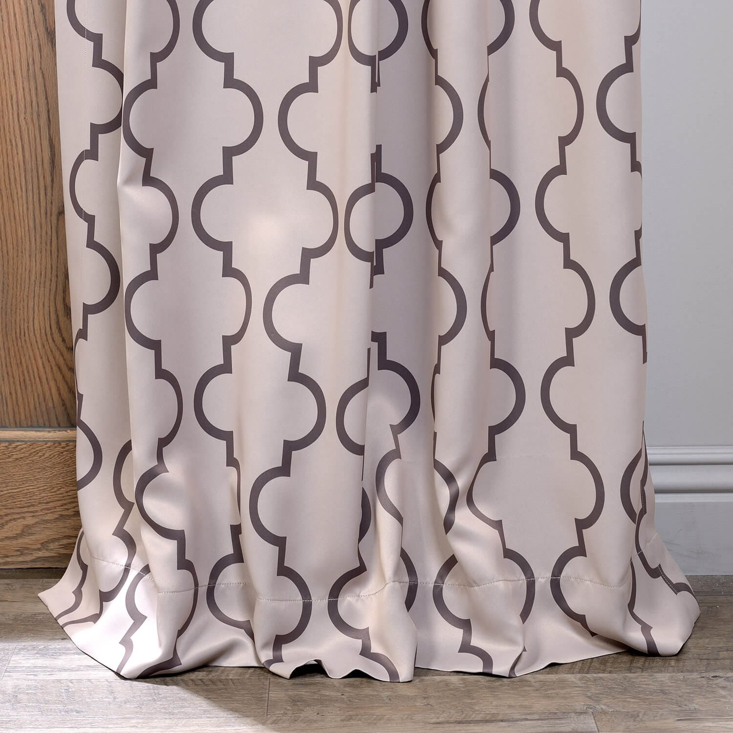 Seville Tan Room Darkening Curtain