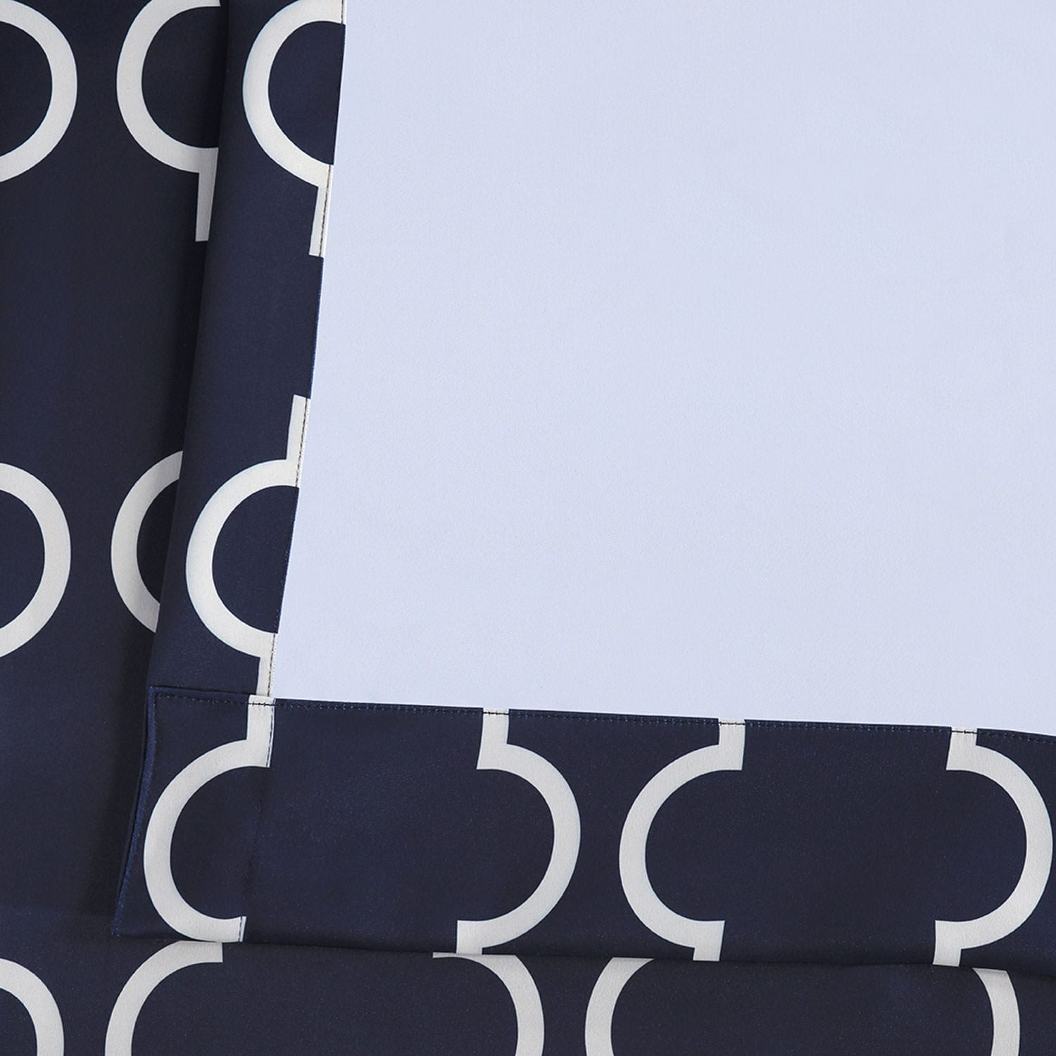 Seville Navy Blackout Room Darkening Curtain