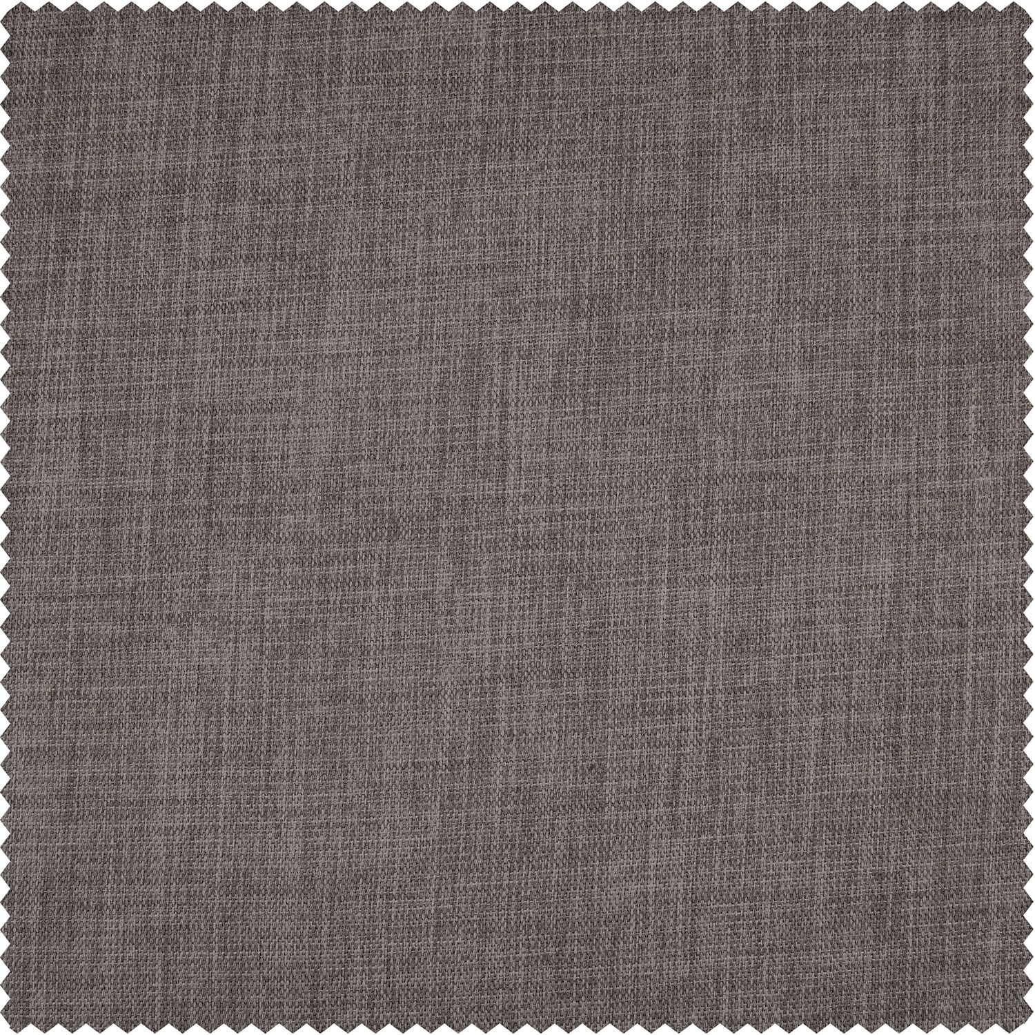 Mink Faux Linen Blackout Swatch