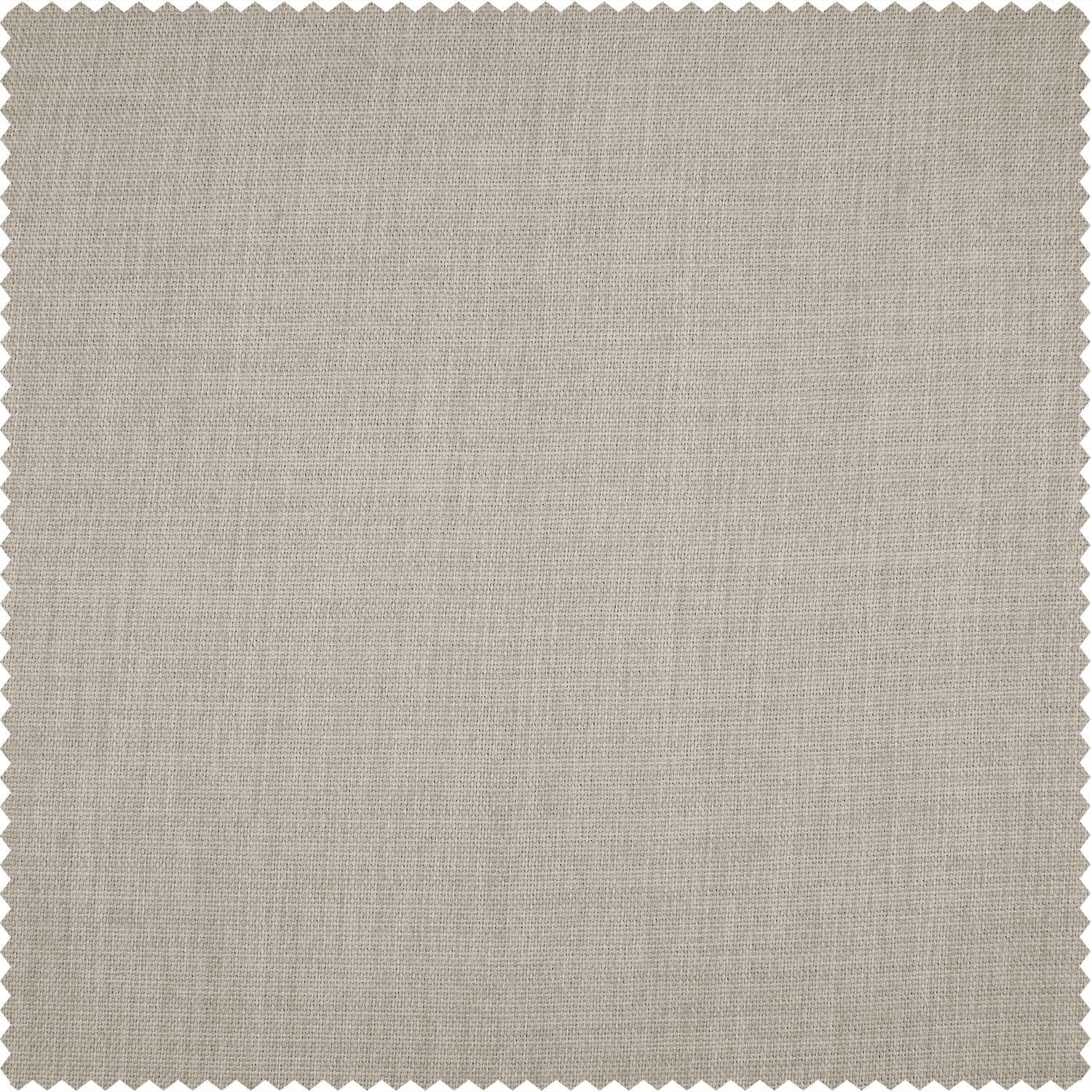 Thatched Tan Faux Linen Blackout Room Darkening Swatch