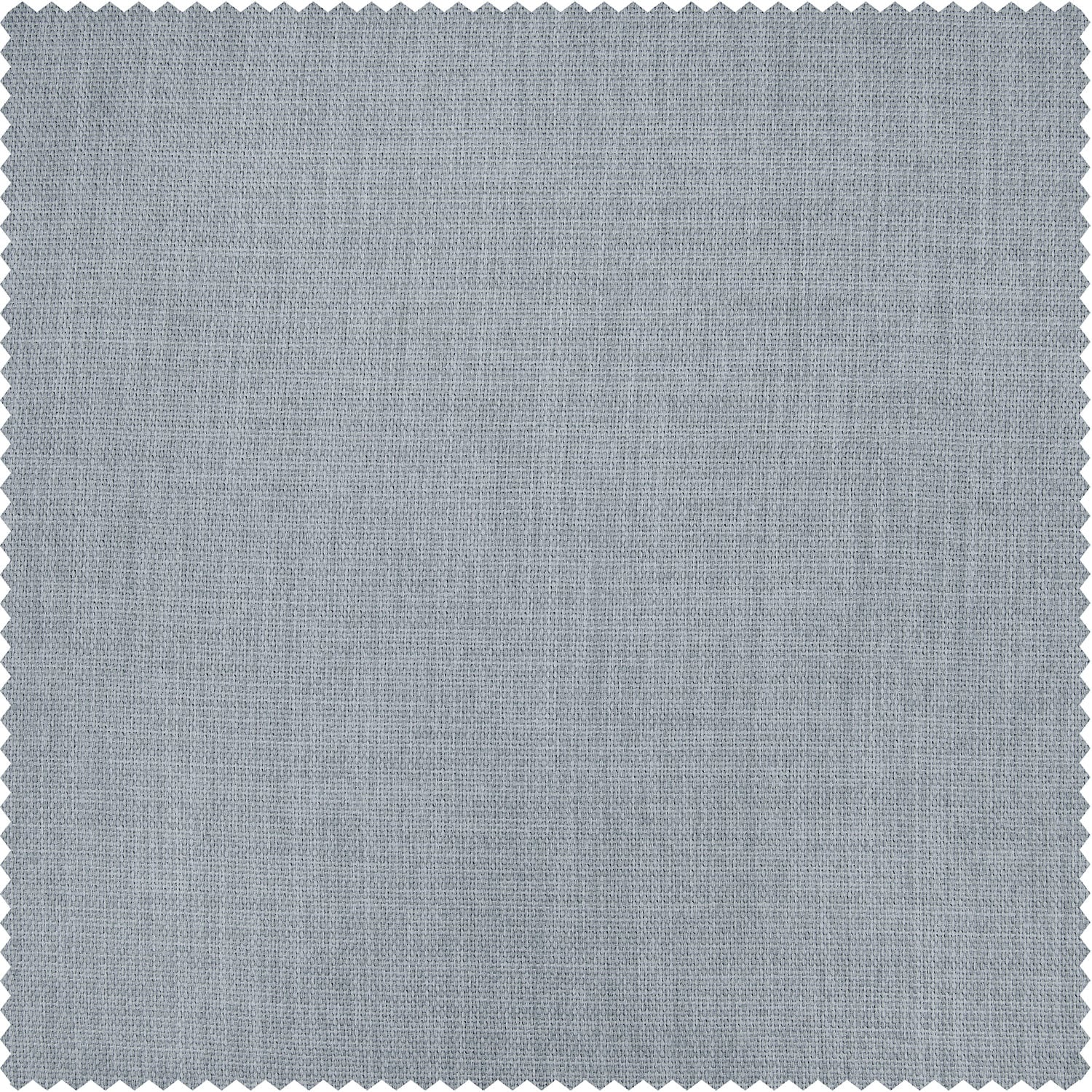 Heather Grey Faux Linen Blackout Room Darkening Swatch