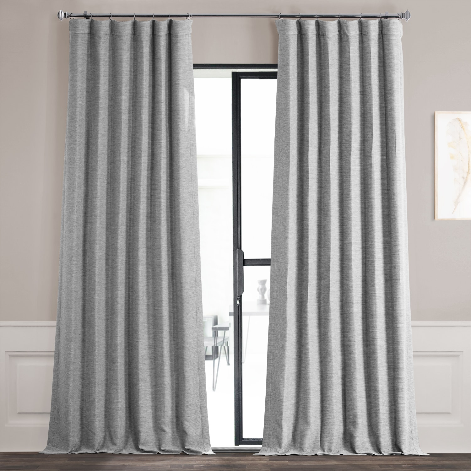 Vista Grey Bellino Blackout Curtain