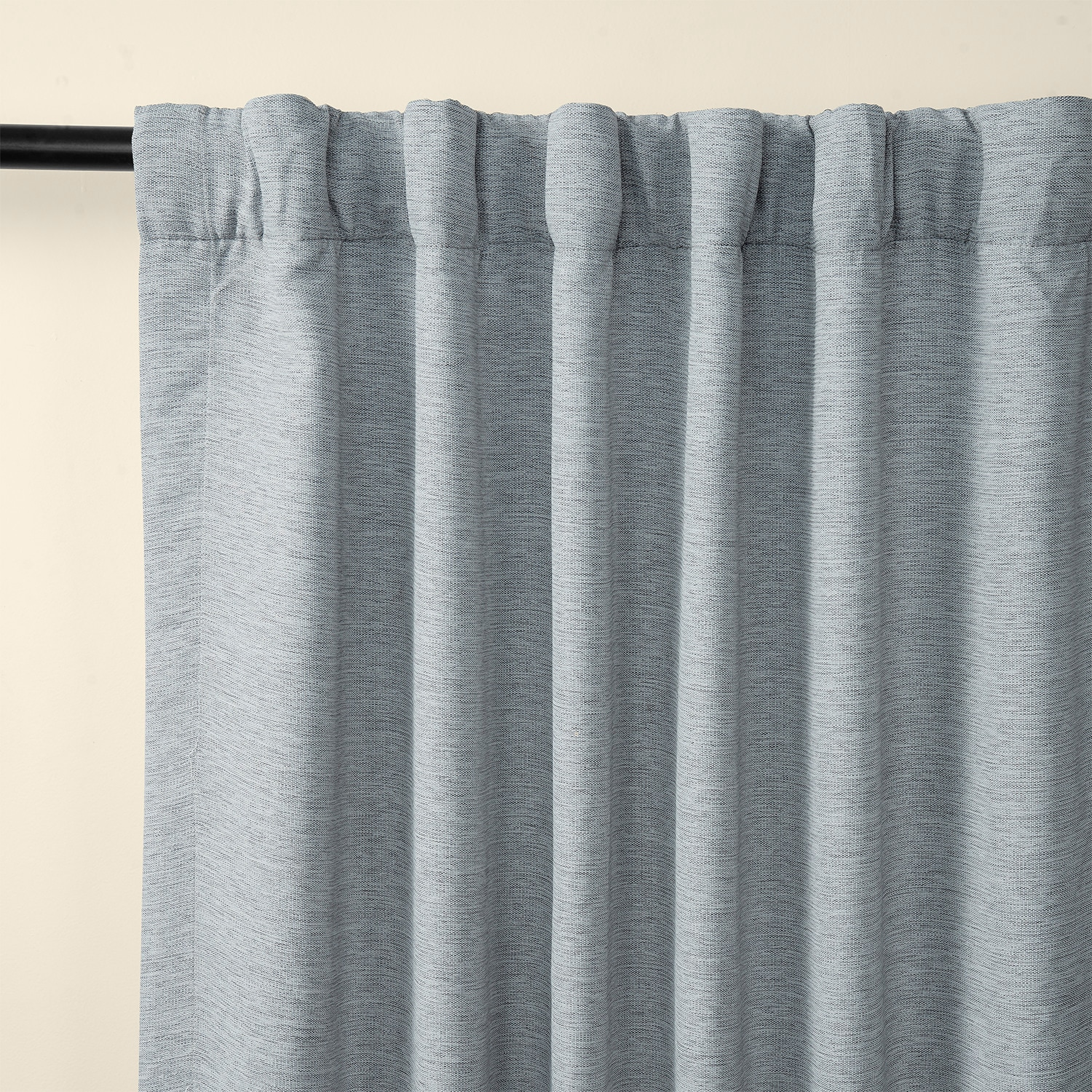 Gulf Blue Bellino Blackout Room Darkening Curtain