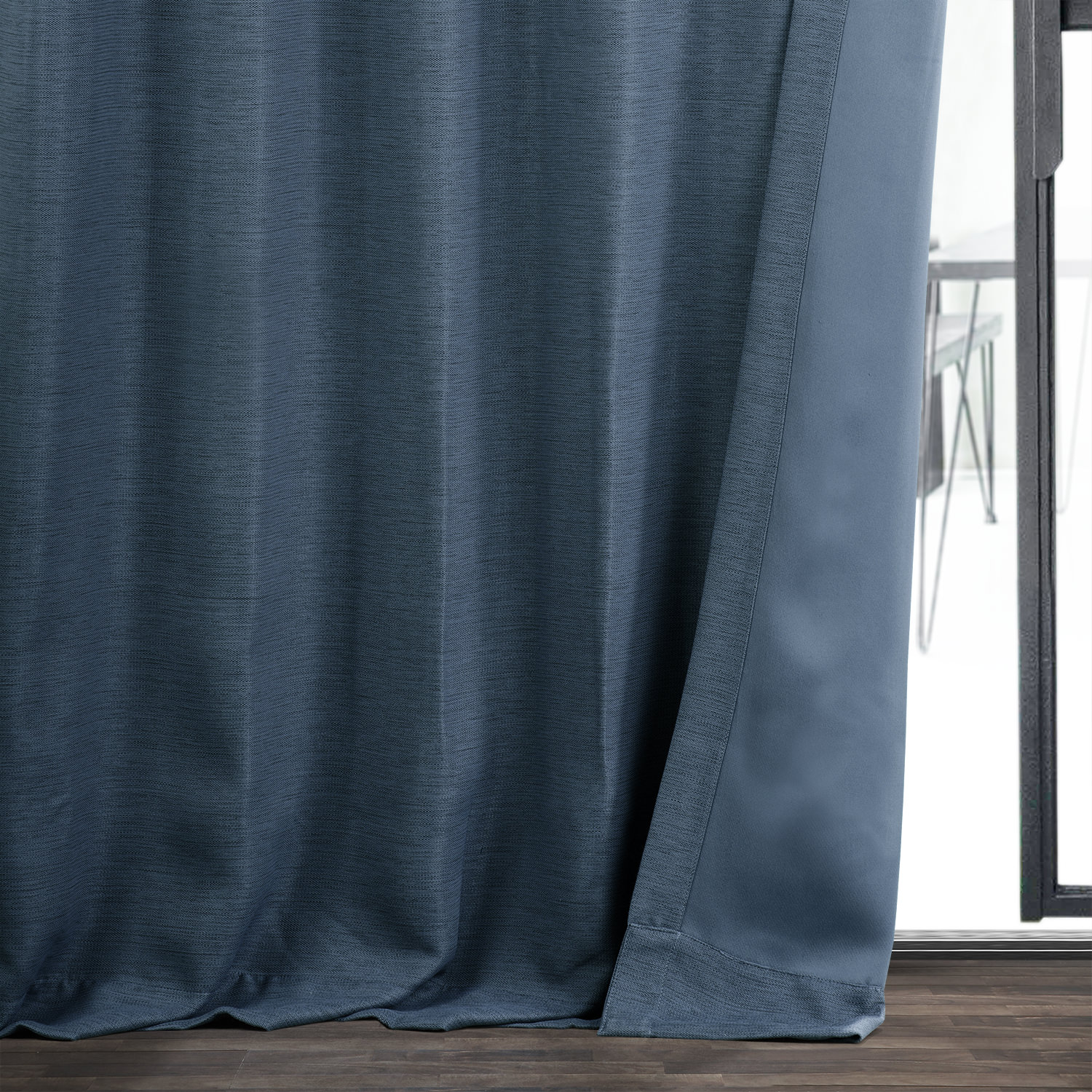 Wild Blue Bellino Blackout Room Darkening Curtain