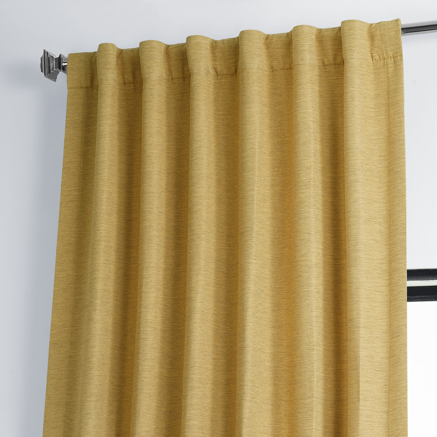 Trinket Gold Bellino Blackout Room Darkening Curtain