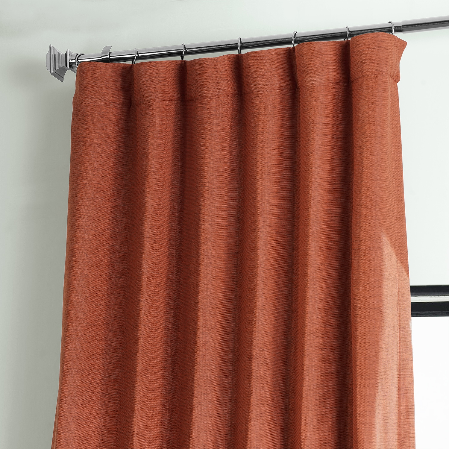 Warm Ember Bellino Blackout Room Darkening Curtain