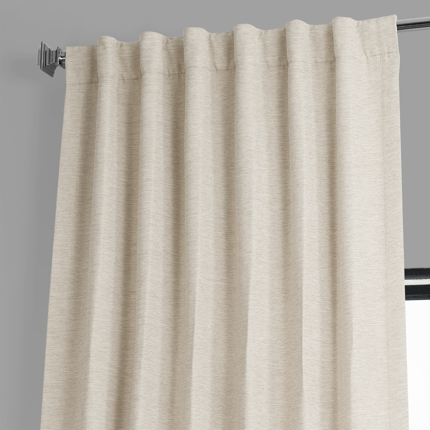 Oat Cream Bellino Blackout Room Darkening Curtain