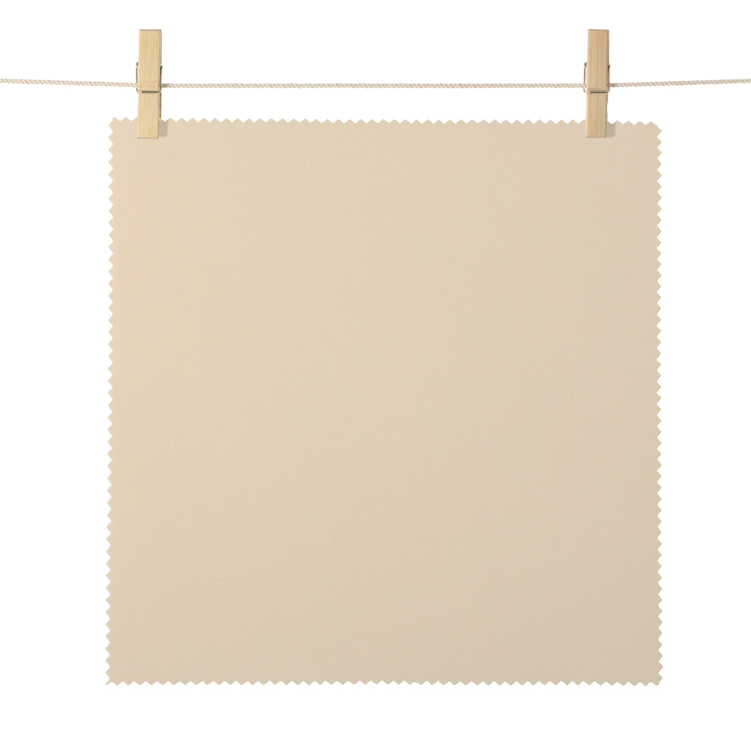 Eureka Tan Broadcloth Textured Blackout Roller Shade Swatch