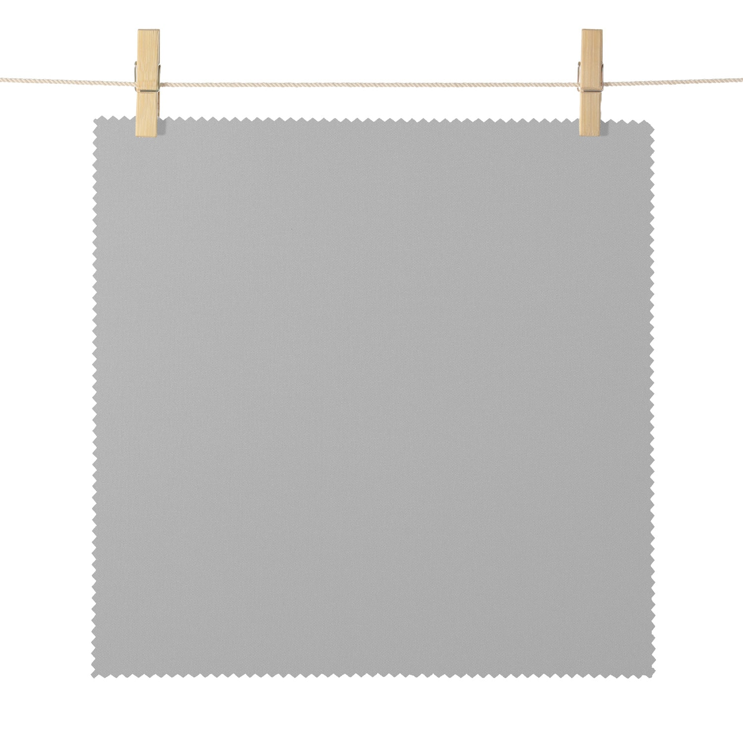 Eureka Stone Broadcloth Textured Blackout Roller Shade Swatch