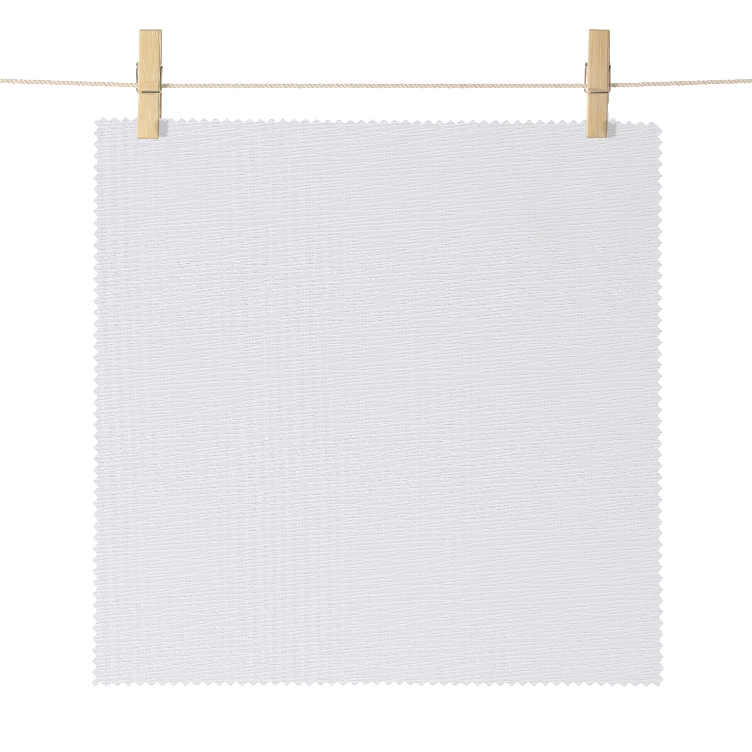 Dunsmuir Cream Boucle Textured Blackout Roller Shade Swatch