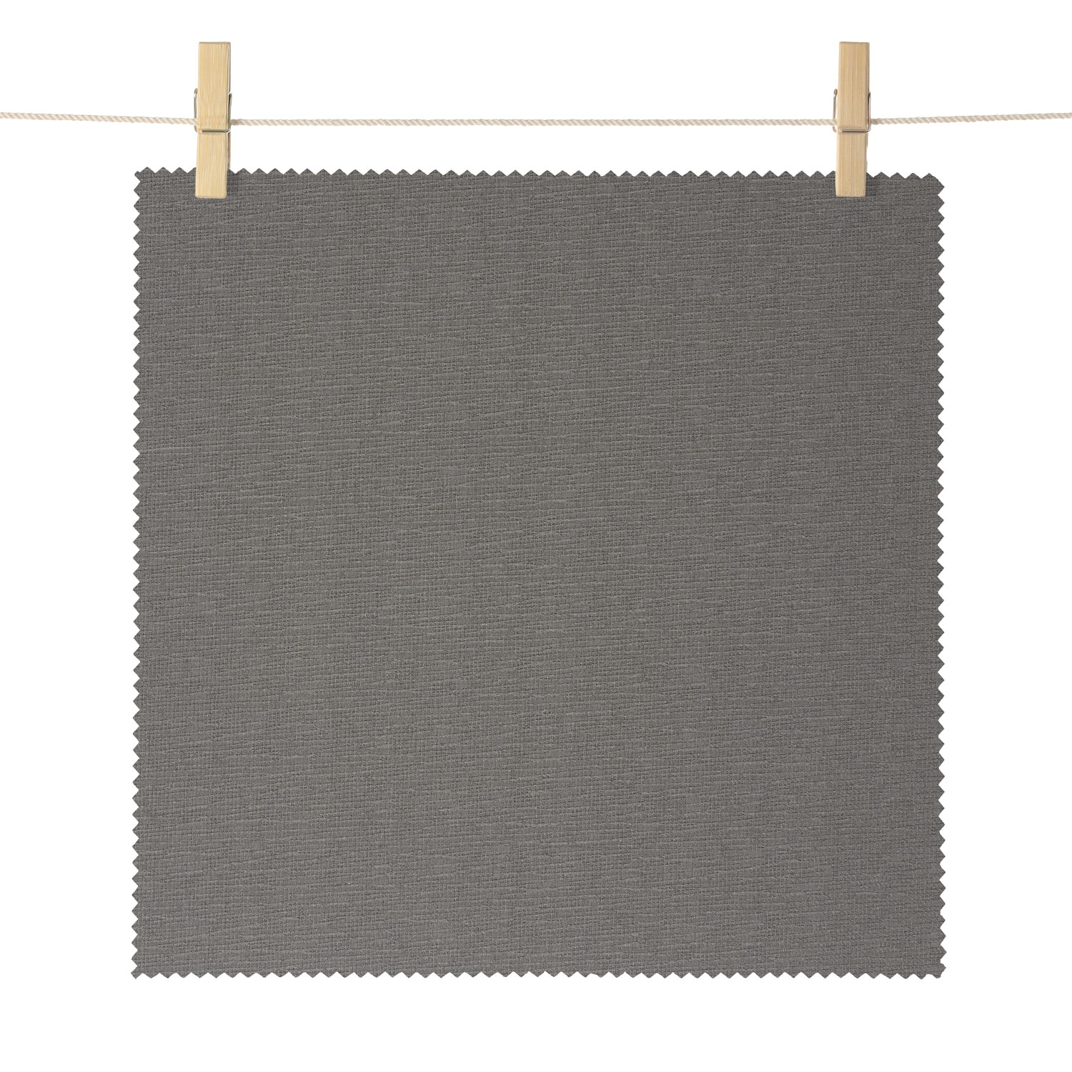 Dunsmuir Grey Boucle Textured Blackout Roller Shade Swatch
