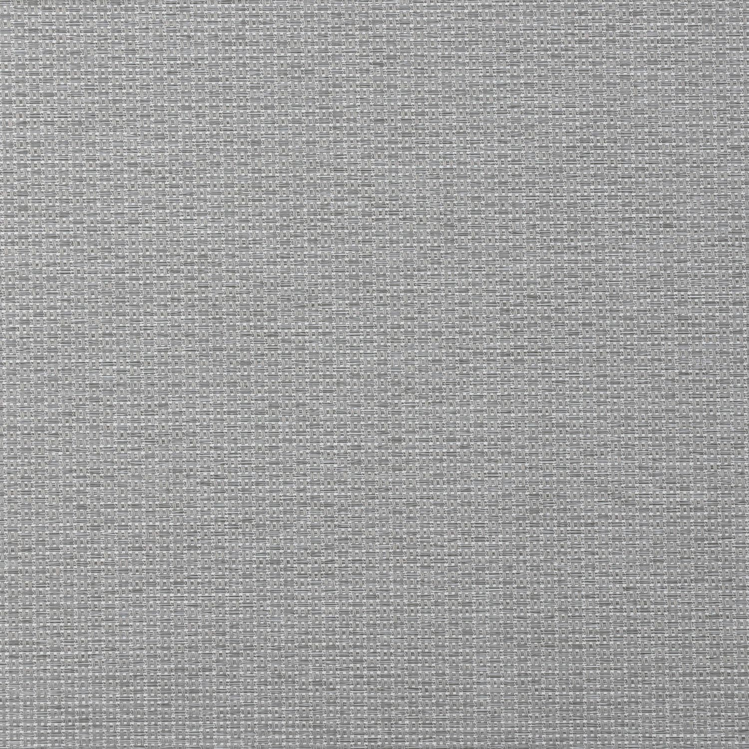 Rockland Silver BasketWeave Textured Blackout Roller Shade Swatch