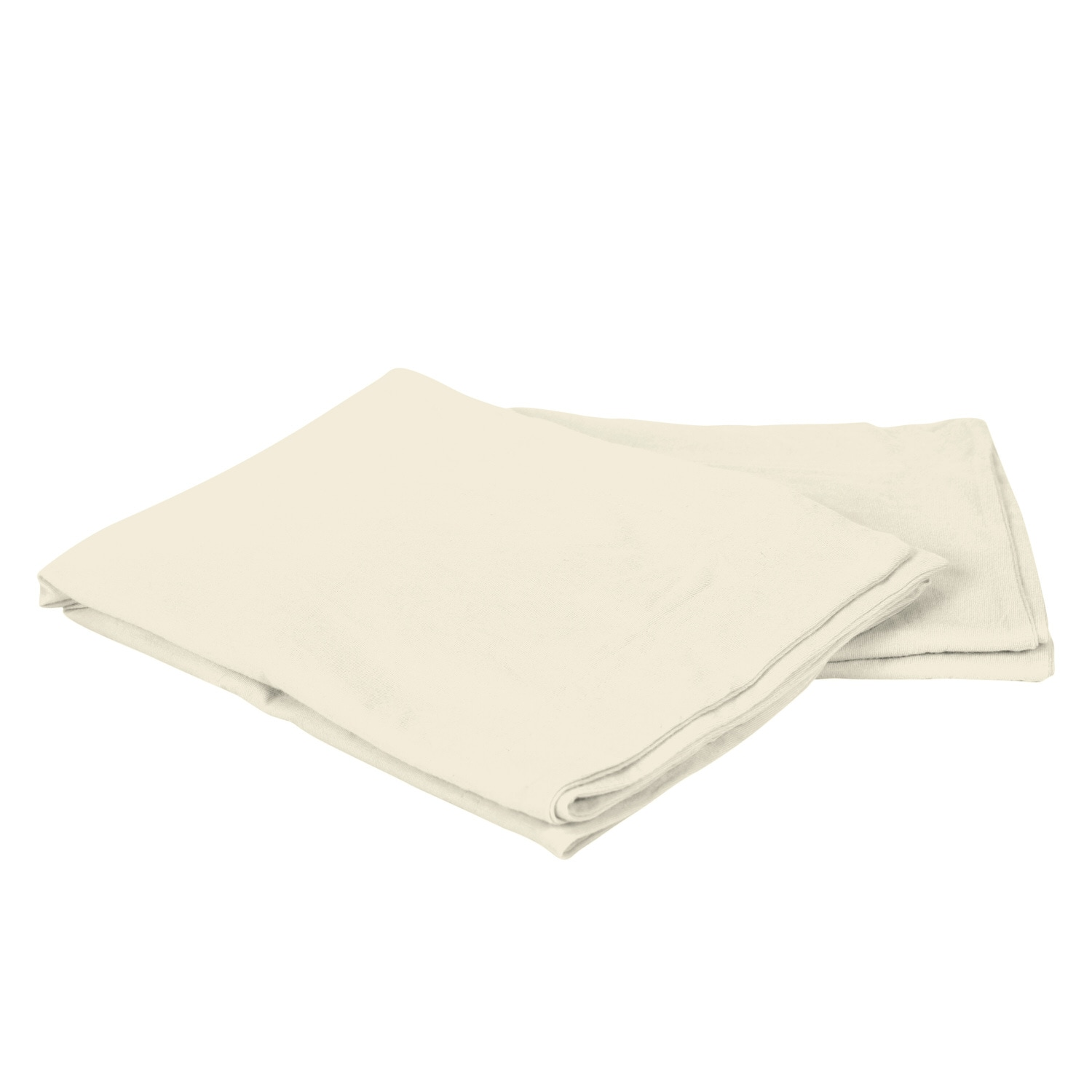 Cotton Jersey Ivory Pillow Cases