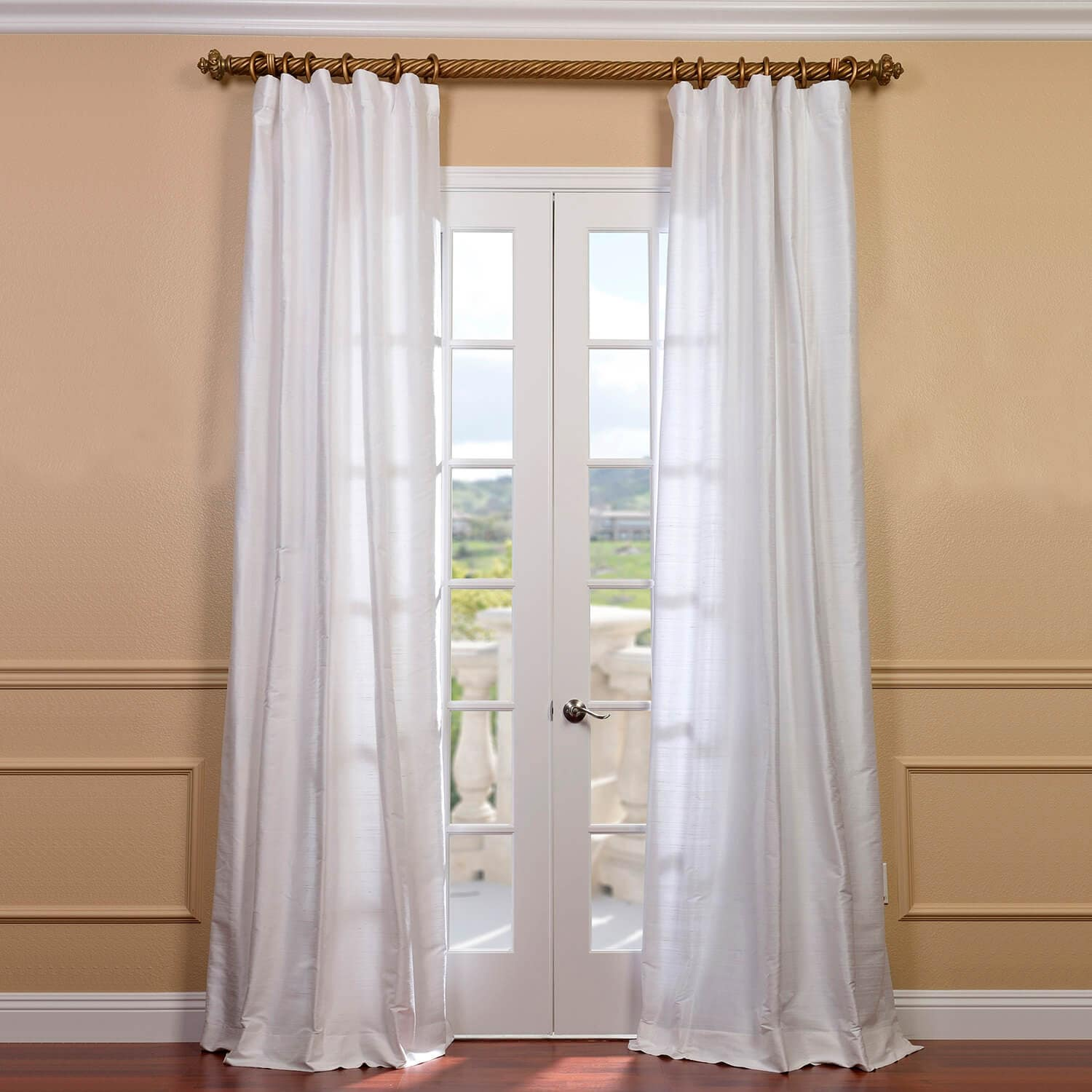lighting poster drapes stock with four photo curtains integral silk and bed