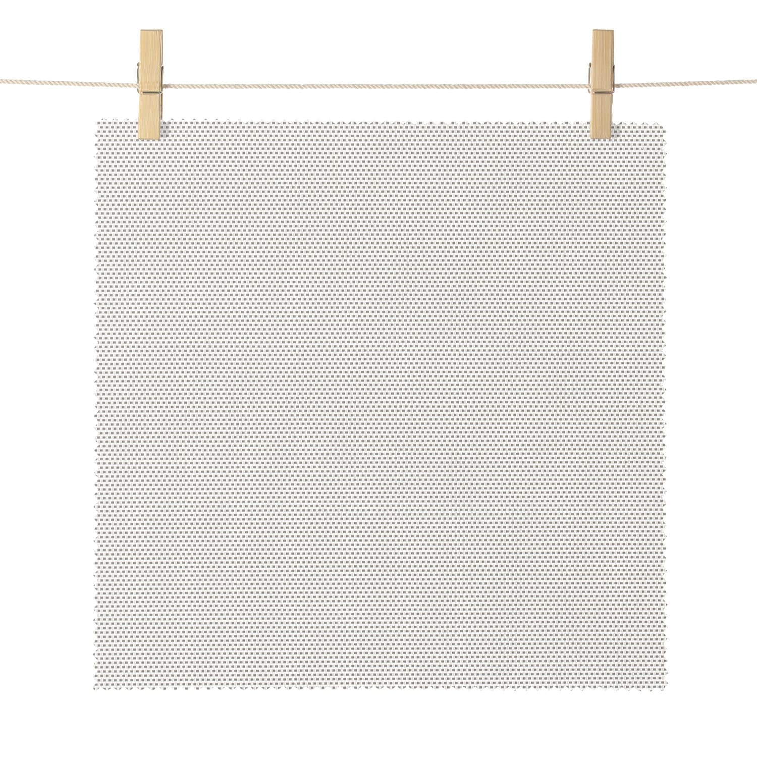 Stanford Silver Eton Textured Light Filtering Roller Shade Swatch