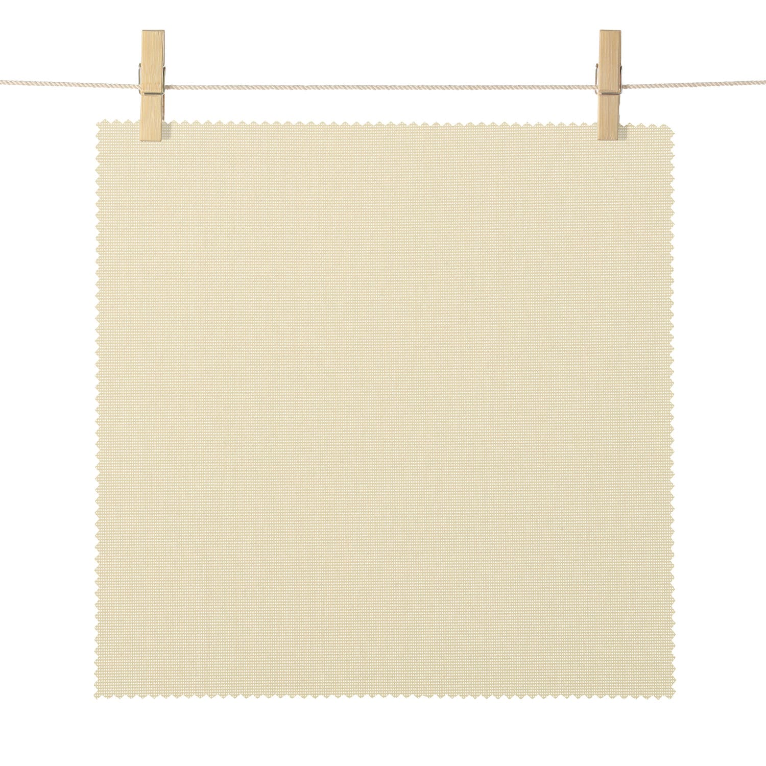 Burbank Tan TabbyWeave Textured Semi Sheer Roller Shade Swatch