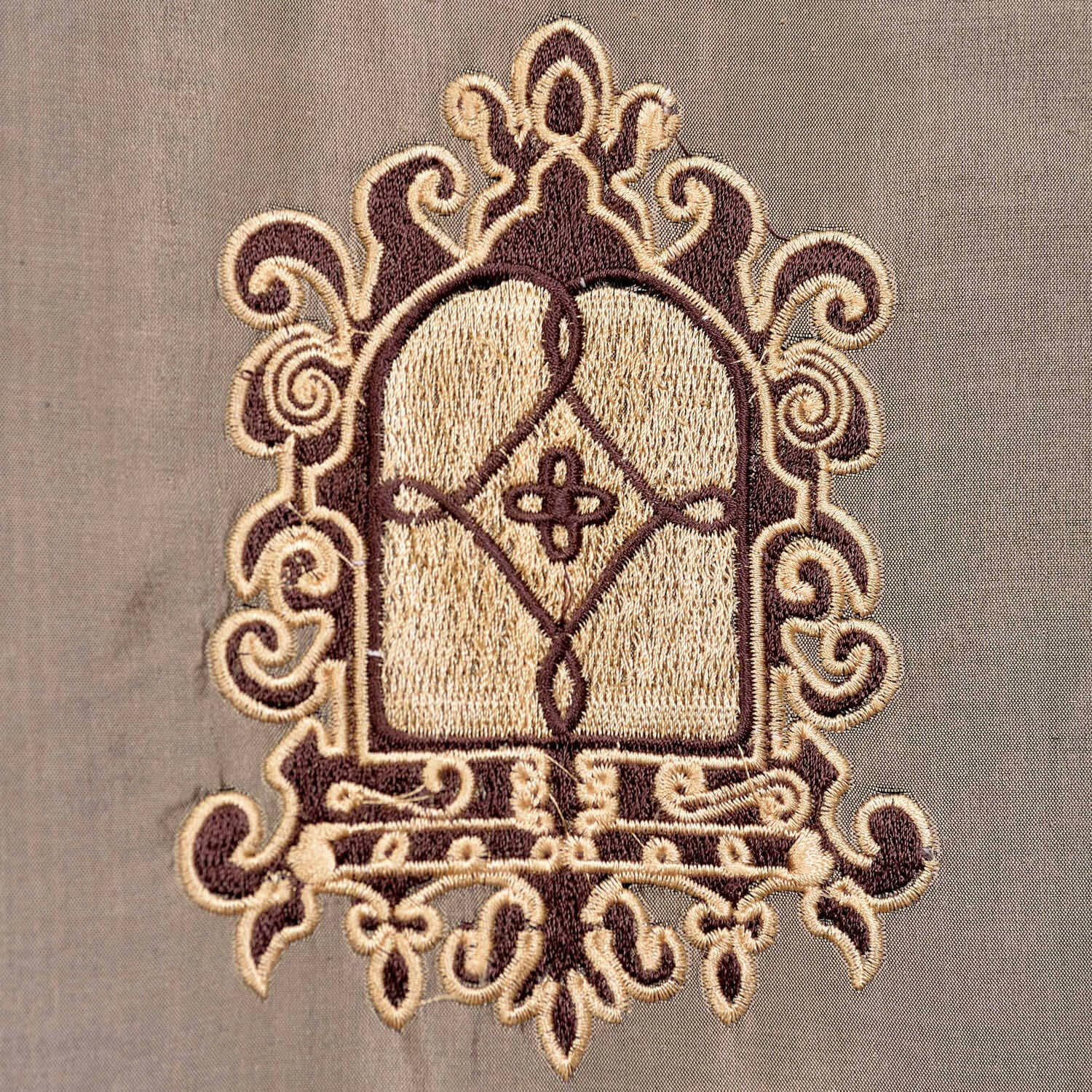 Atherton Embroidered Silk Curtains