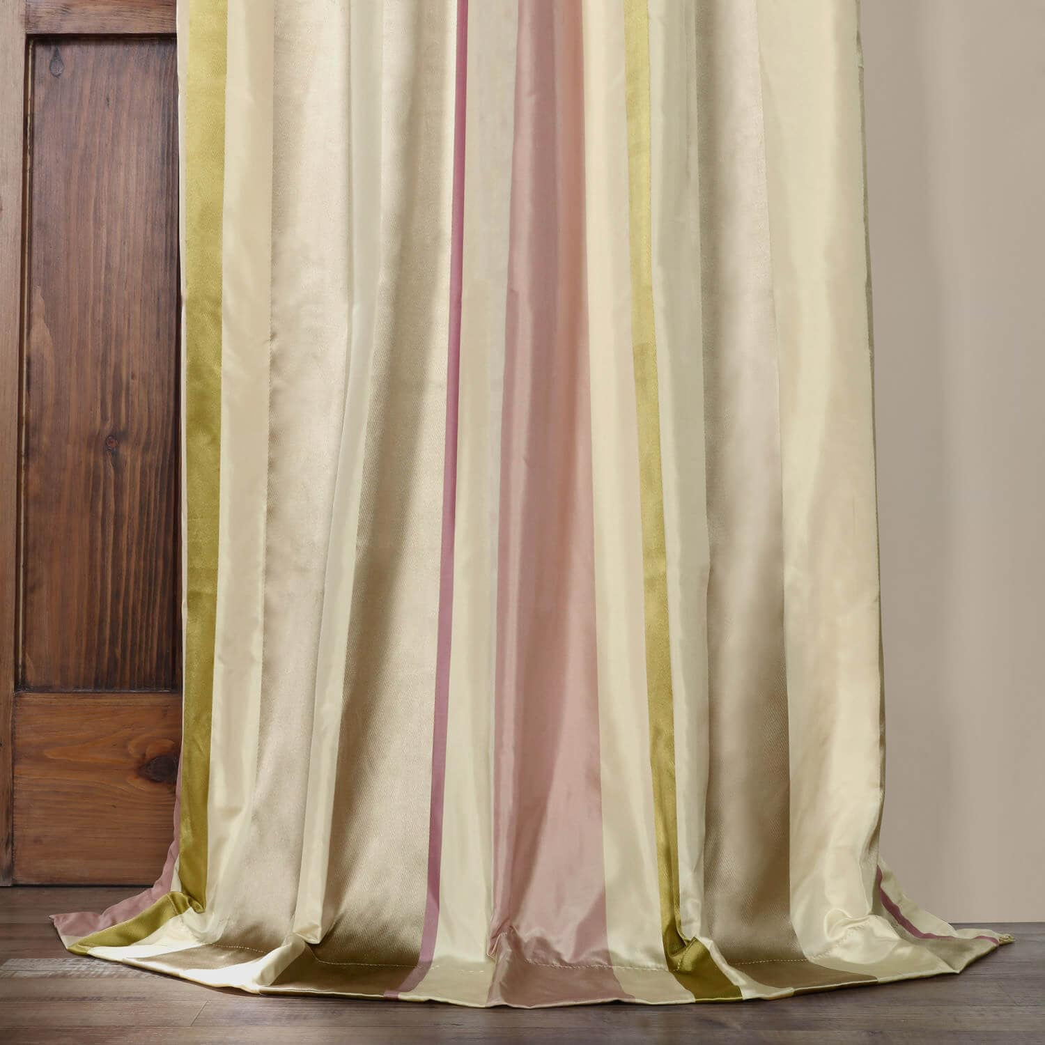 Bedford Stripe Silk Curtain