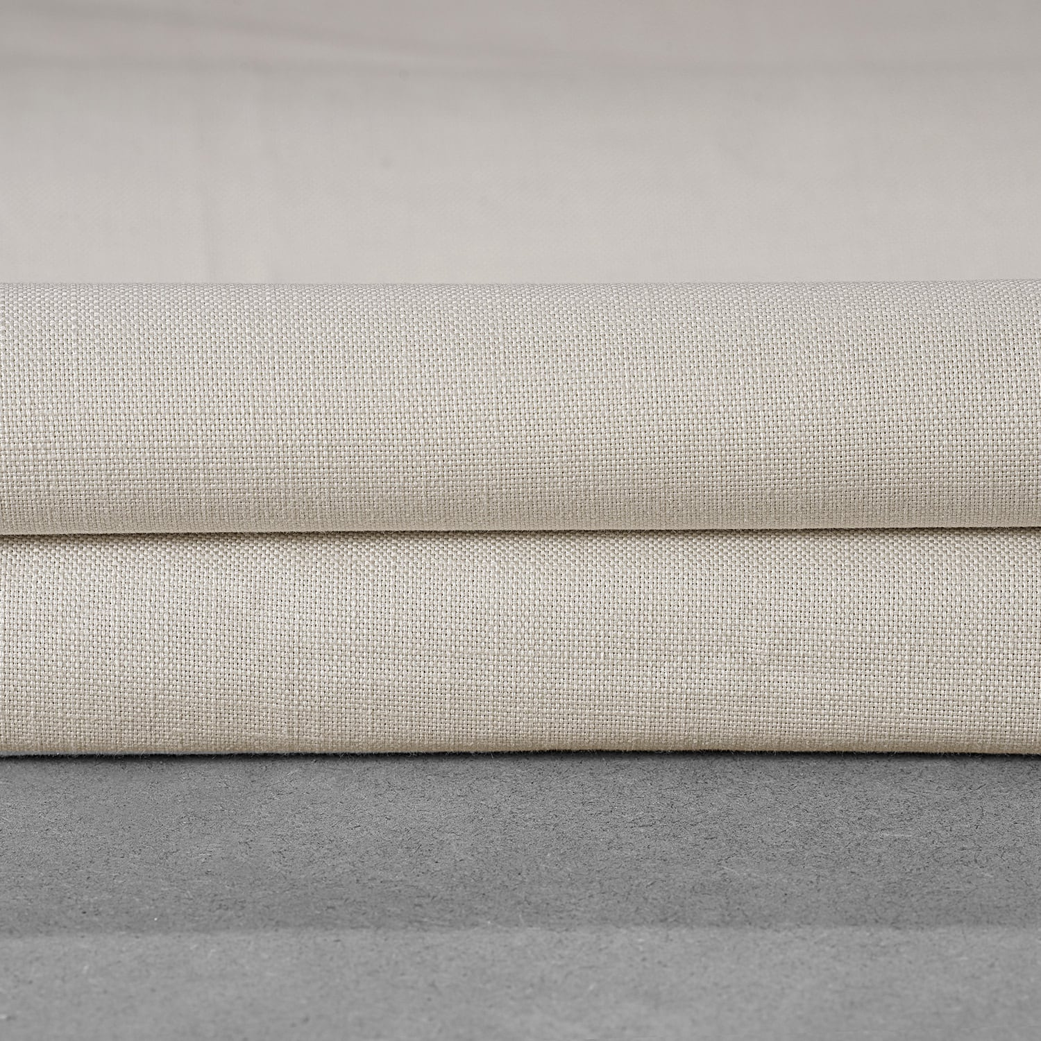 Fable Beige Dune Textured Solid Cotton Swatch