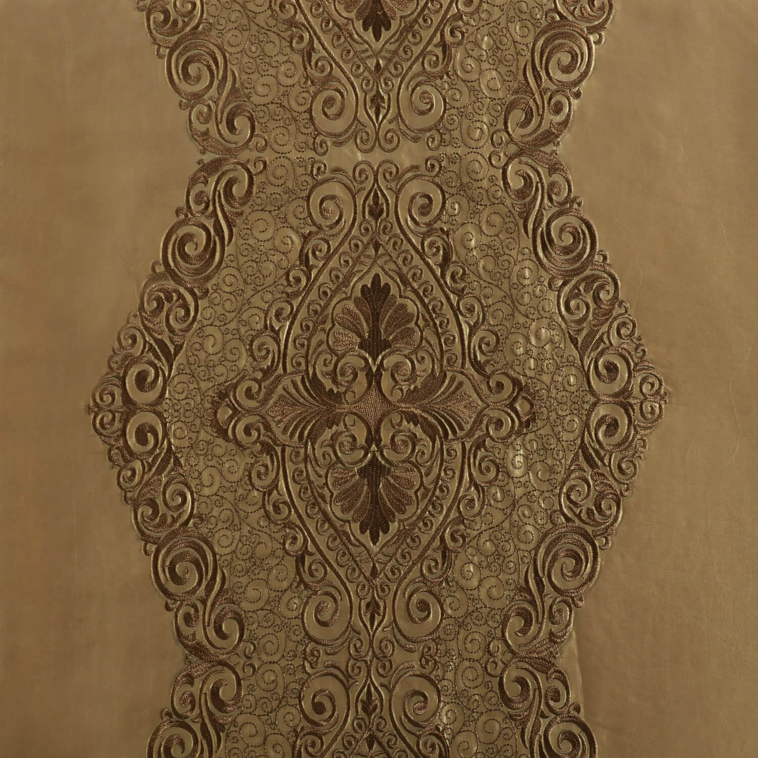 Chai Gold Designer Embroidered Swatch