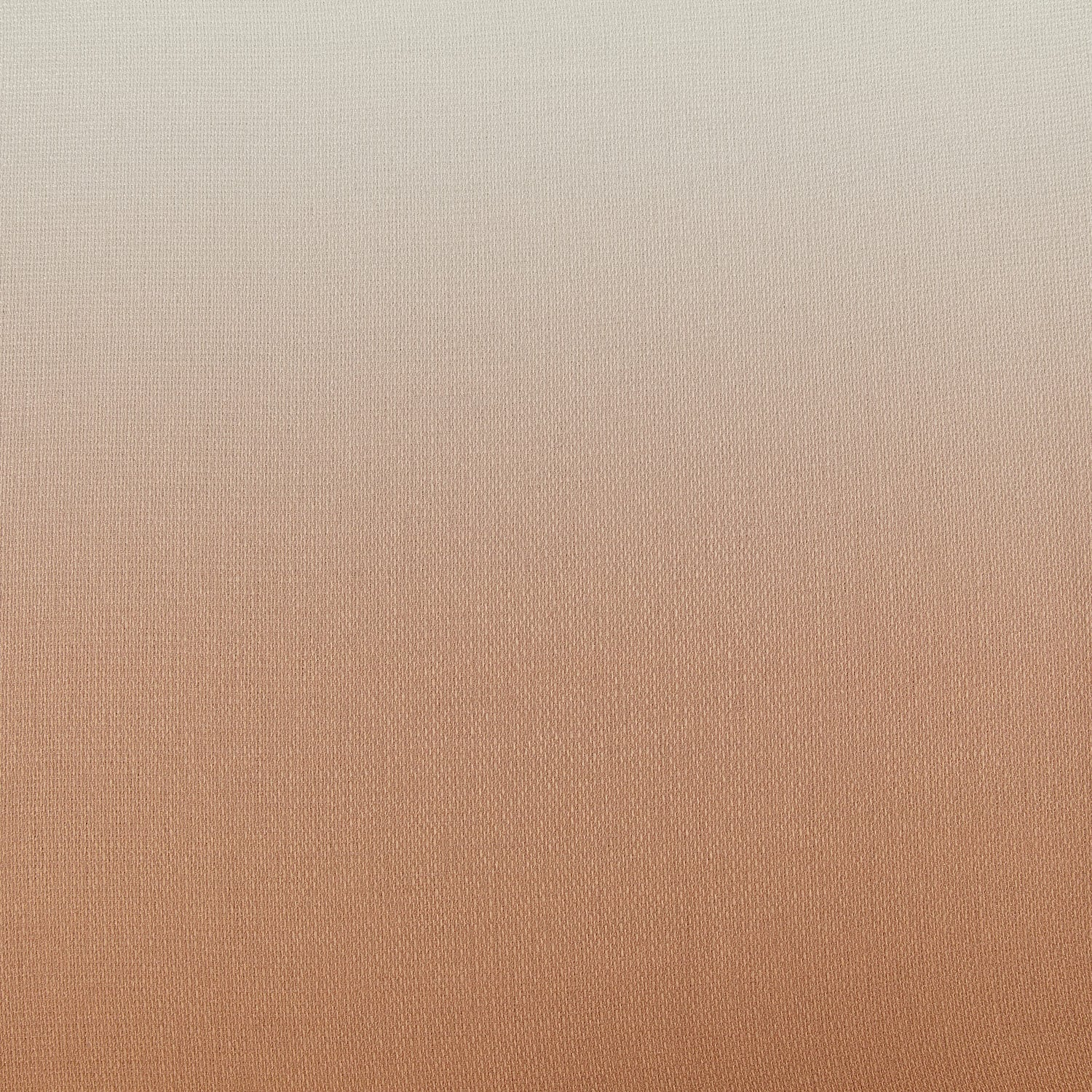 Ombre Salmon Faux Linen Semi Sheer Curtain