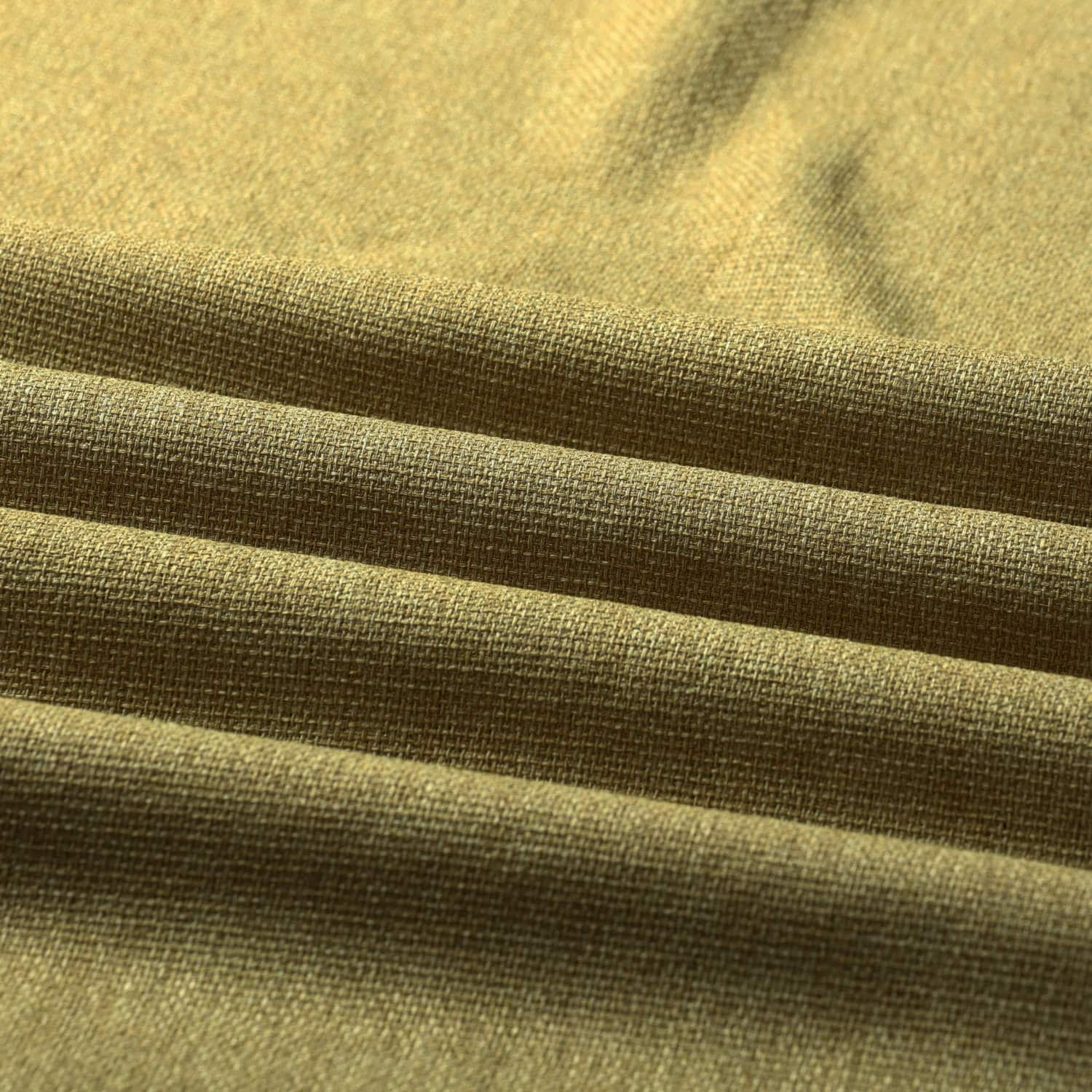 Mountain Olive Faux Linen Sheer Swatch