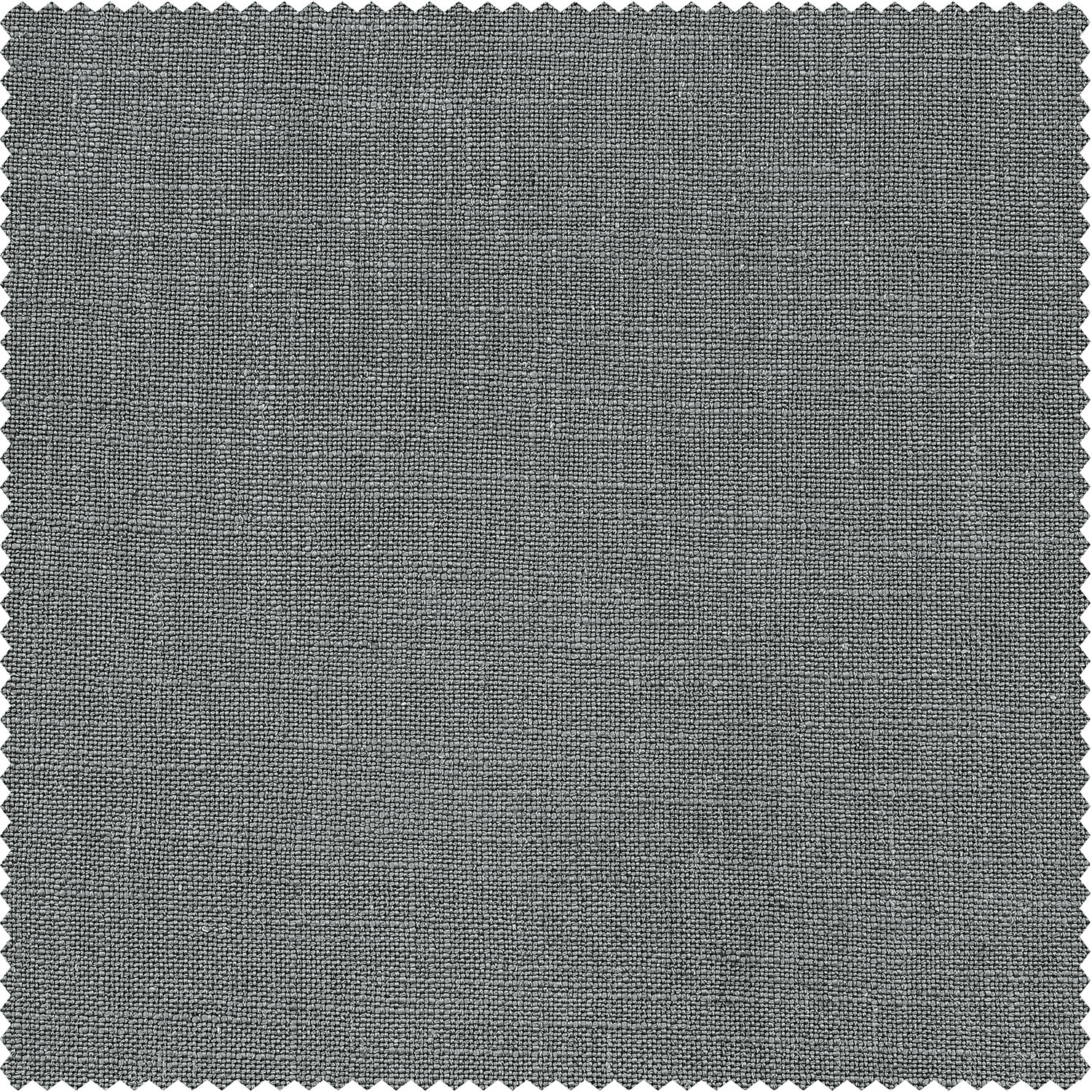 Pewter Grey Heavy Faux Linen Swatch