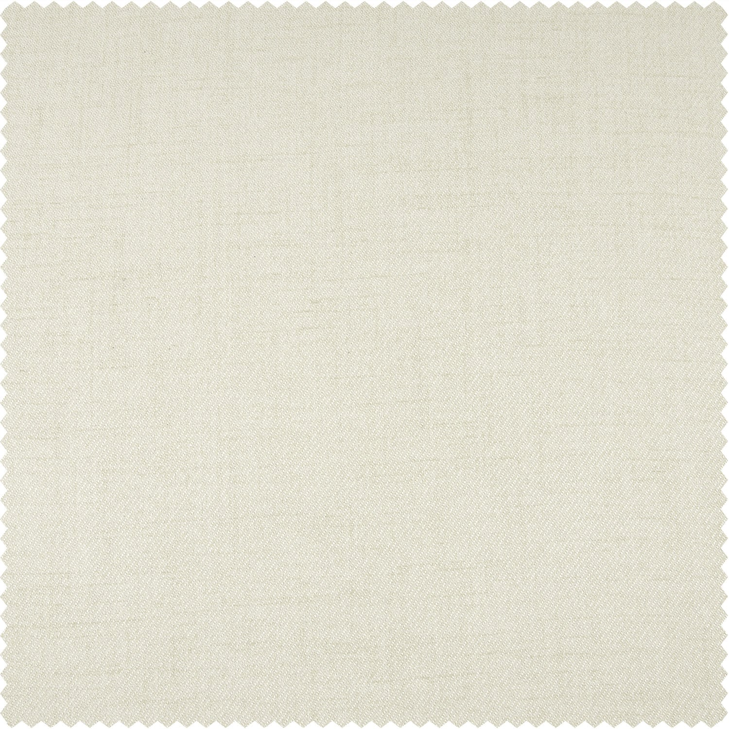 Creamy Ivory Thermal Room Darkening Heathered Italian Woolen Weave Swatch