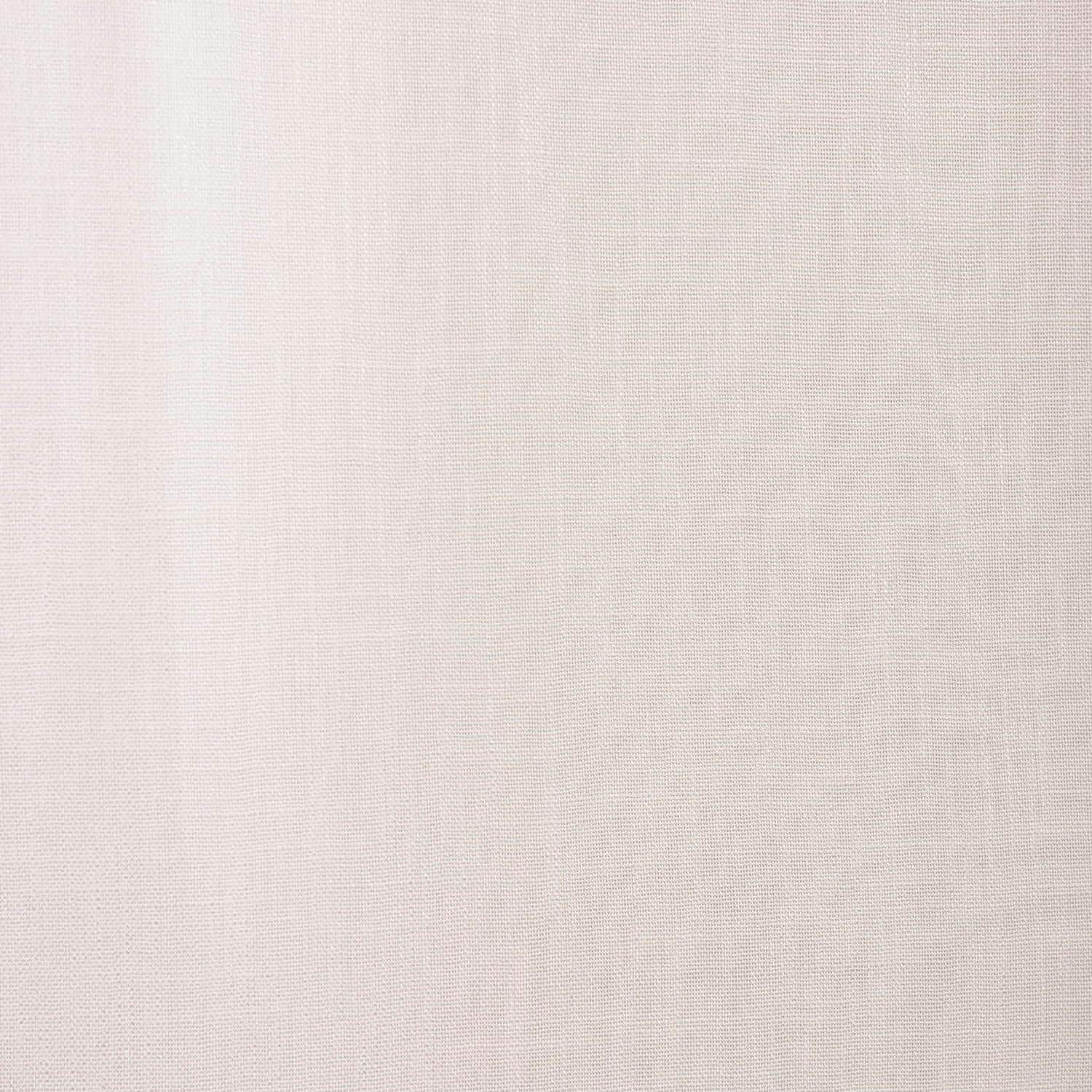 Cloud Faux Linen Grommet Semi Sheer Curtain