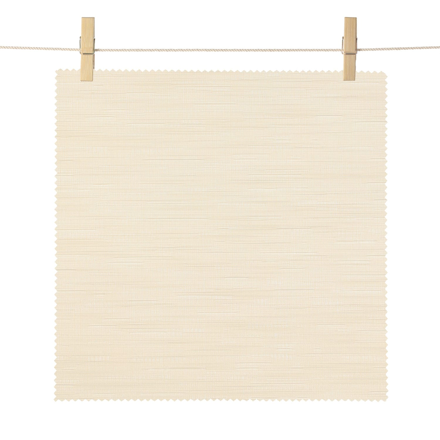 Saratoga Beige Bedford Textured Light Filtering Roller Shade Swatch