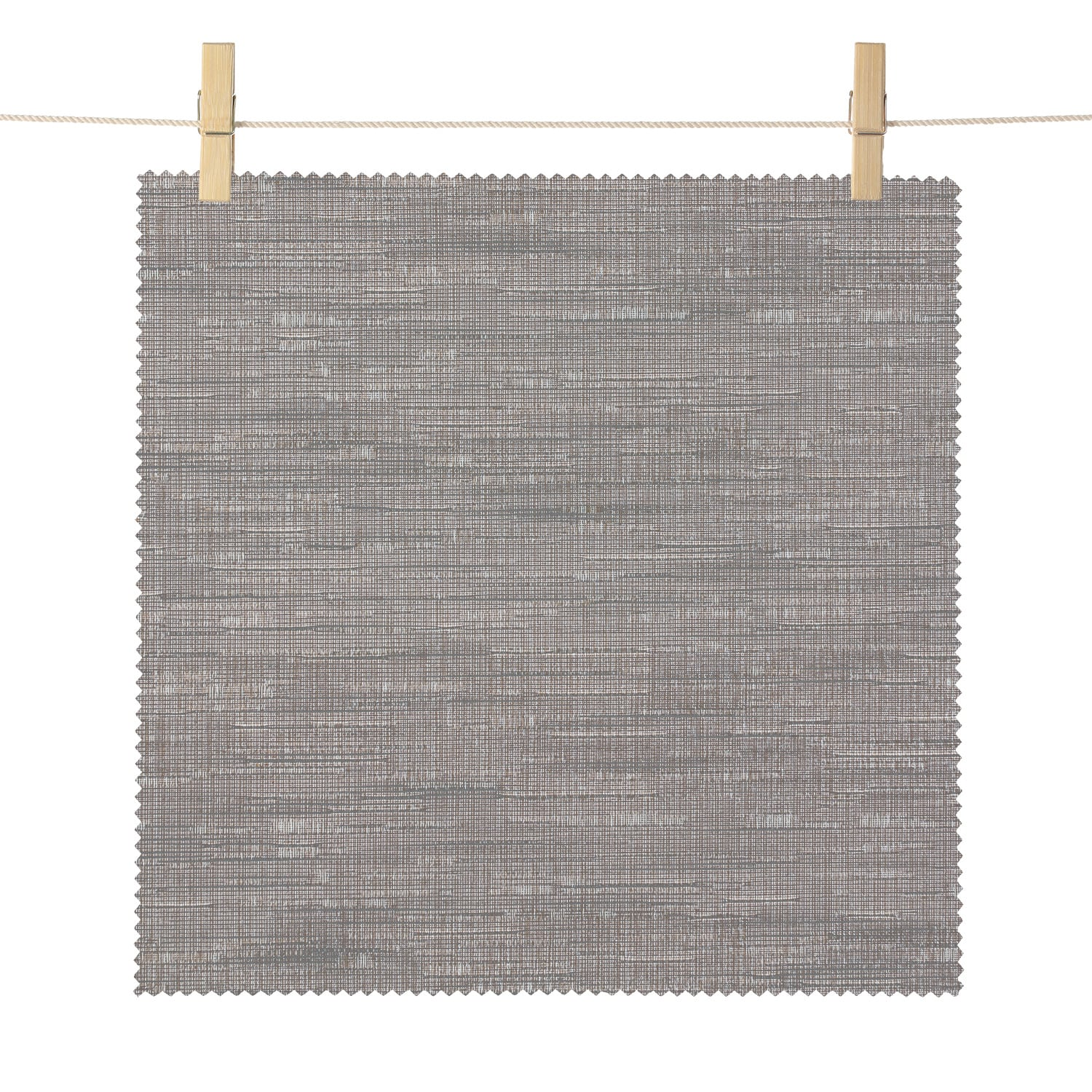 Saratoga Slate Bedford Textured Light Filtering Roller Shade Swatch