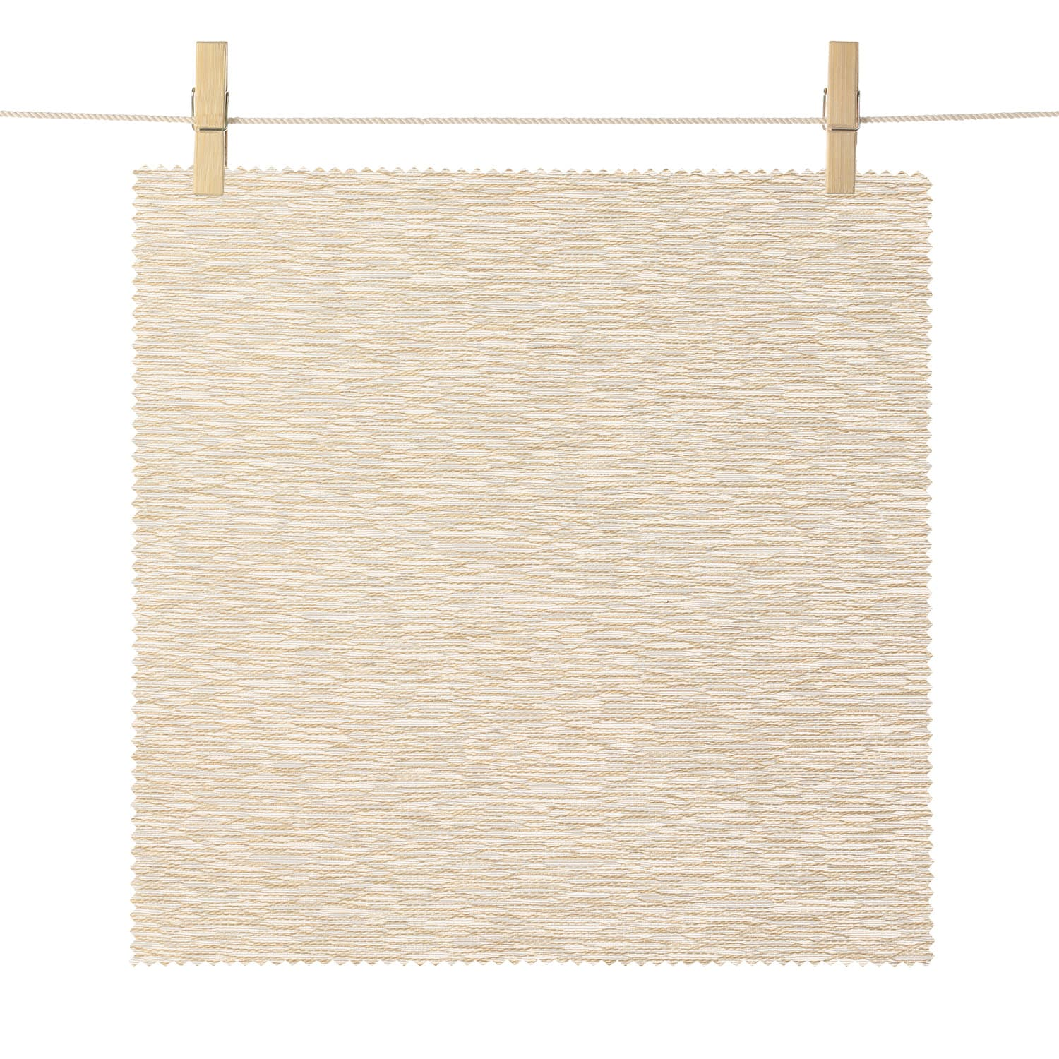 Portola Beige Faille Rib Textured Light Filtering Roller Shade Swatch