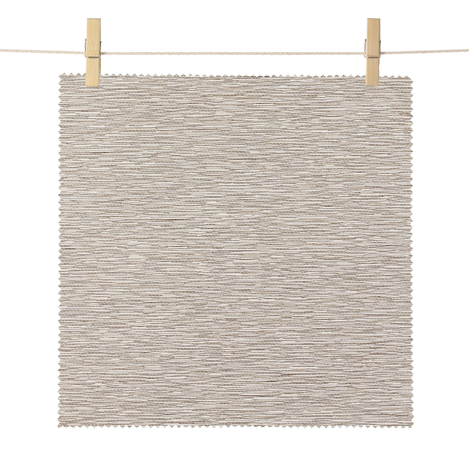 Portola Brown Faille Rib Textured Light Filtering Roller Shade Swatch