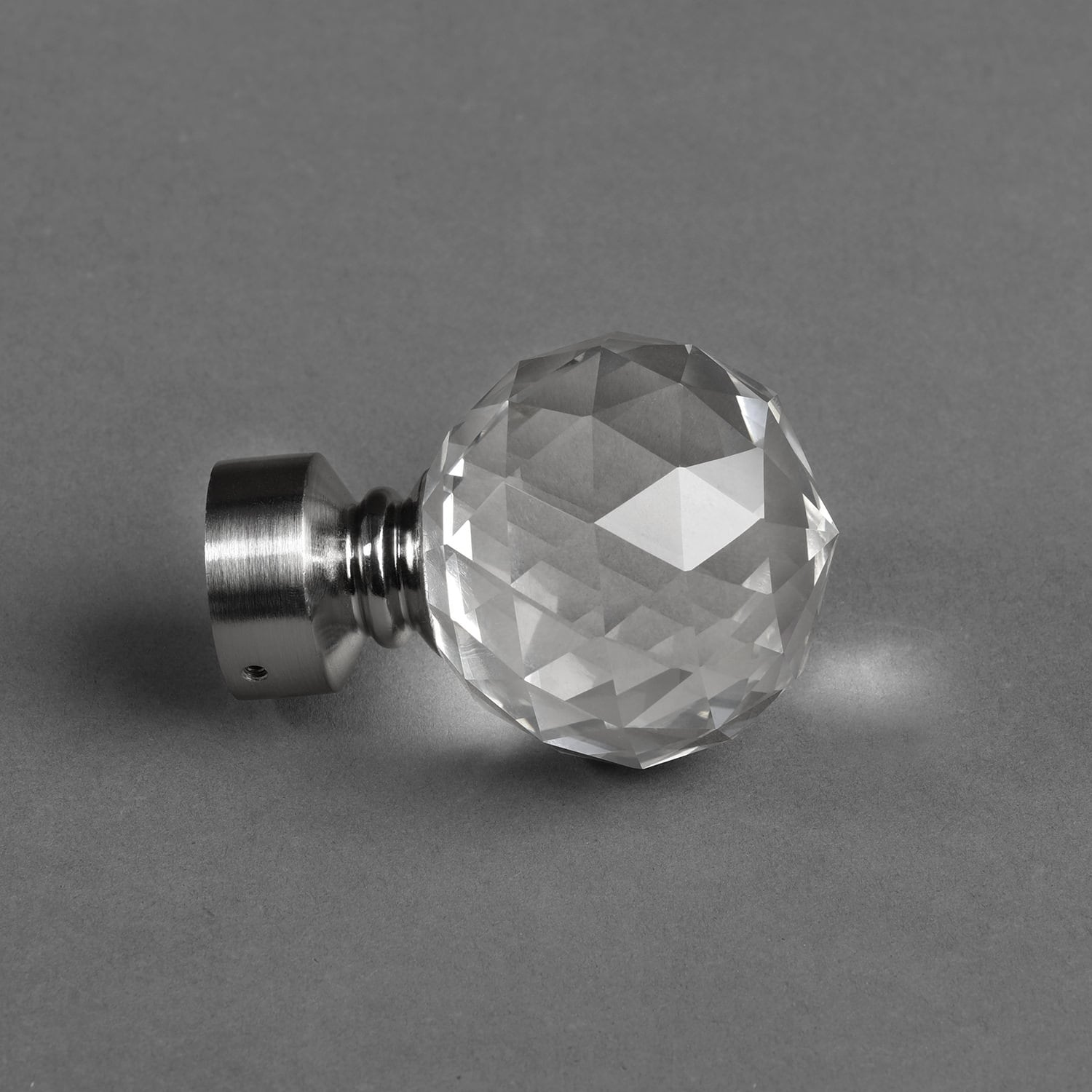 Glass Prism Extendable Rod Set- Nickel