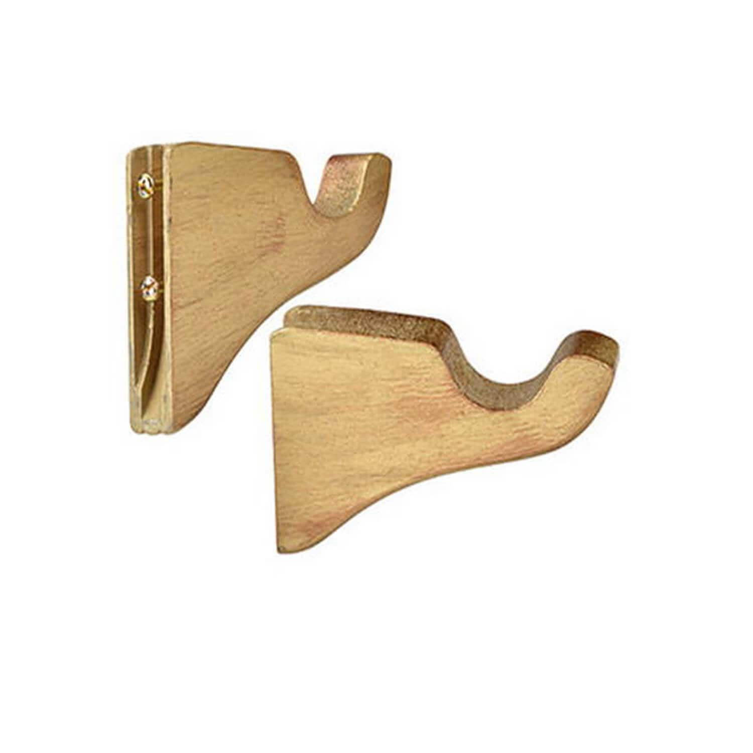 Wooden Brackets (Sold As Pair)