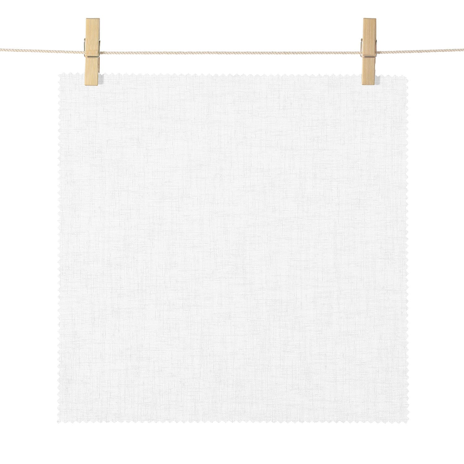 Hawthorn Cream Canton Crepe Textured Semi Sheer Roller Shade Swatch