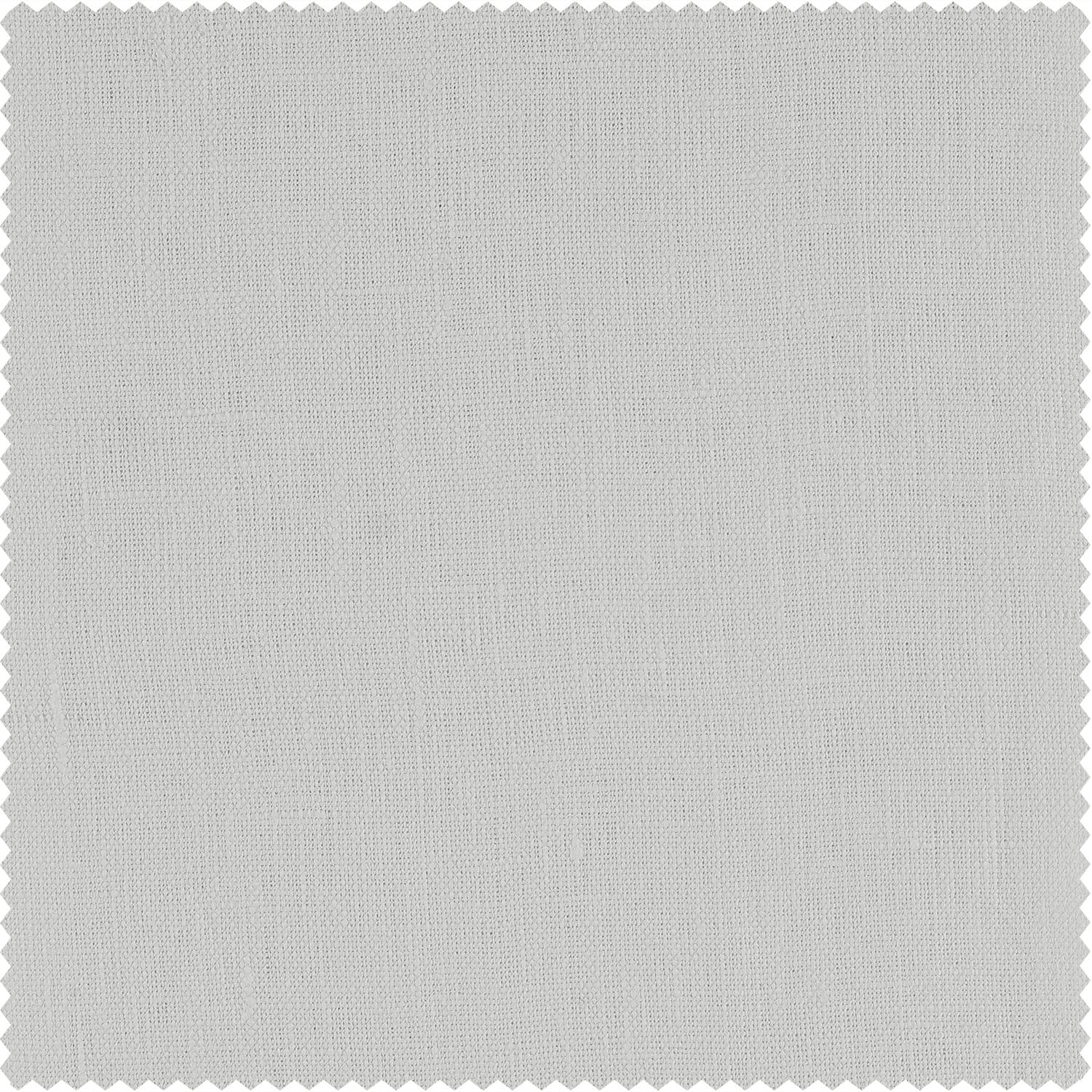 Crisp White French Linen Swatch