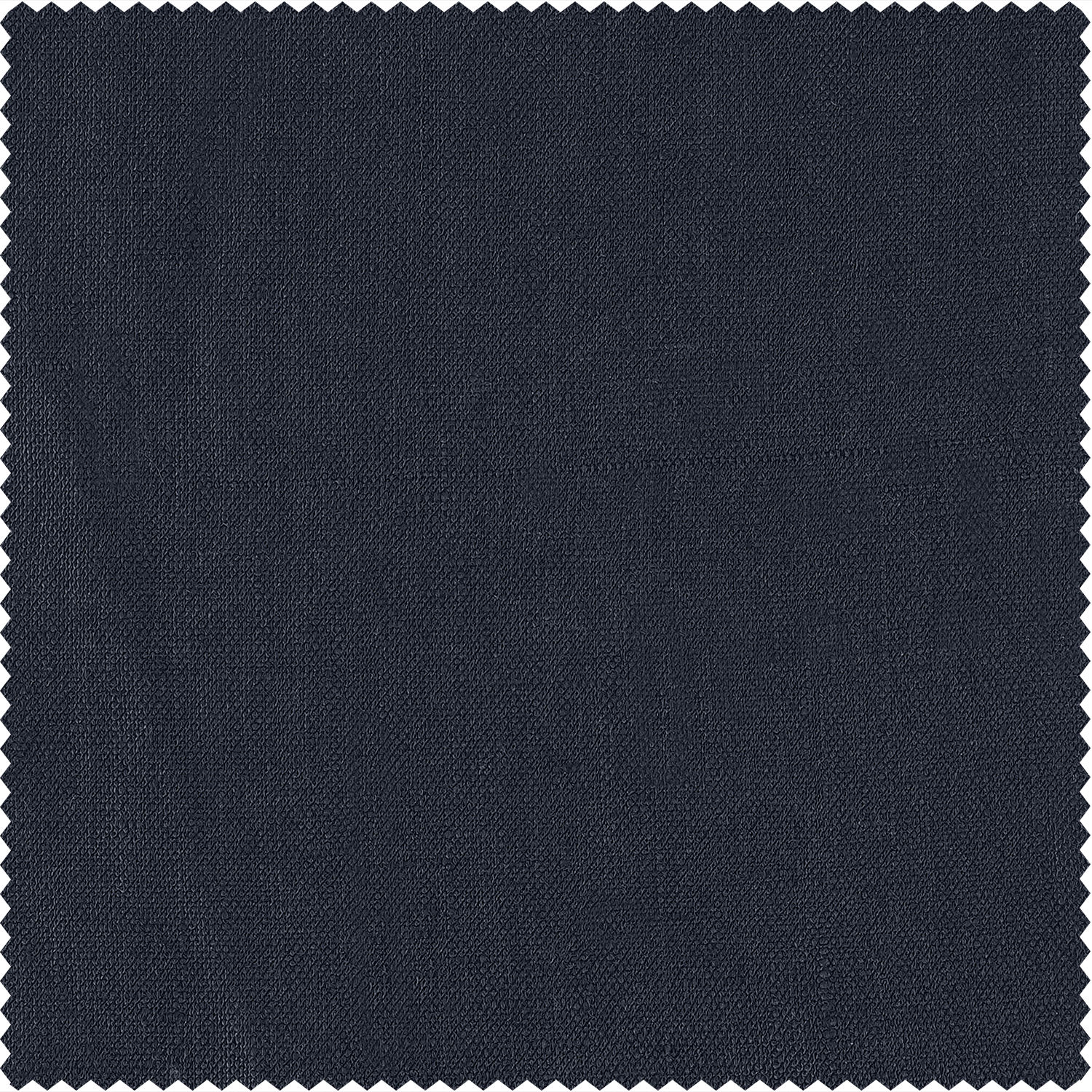 True Navy French Linen Fabric