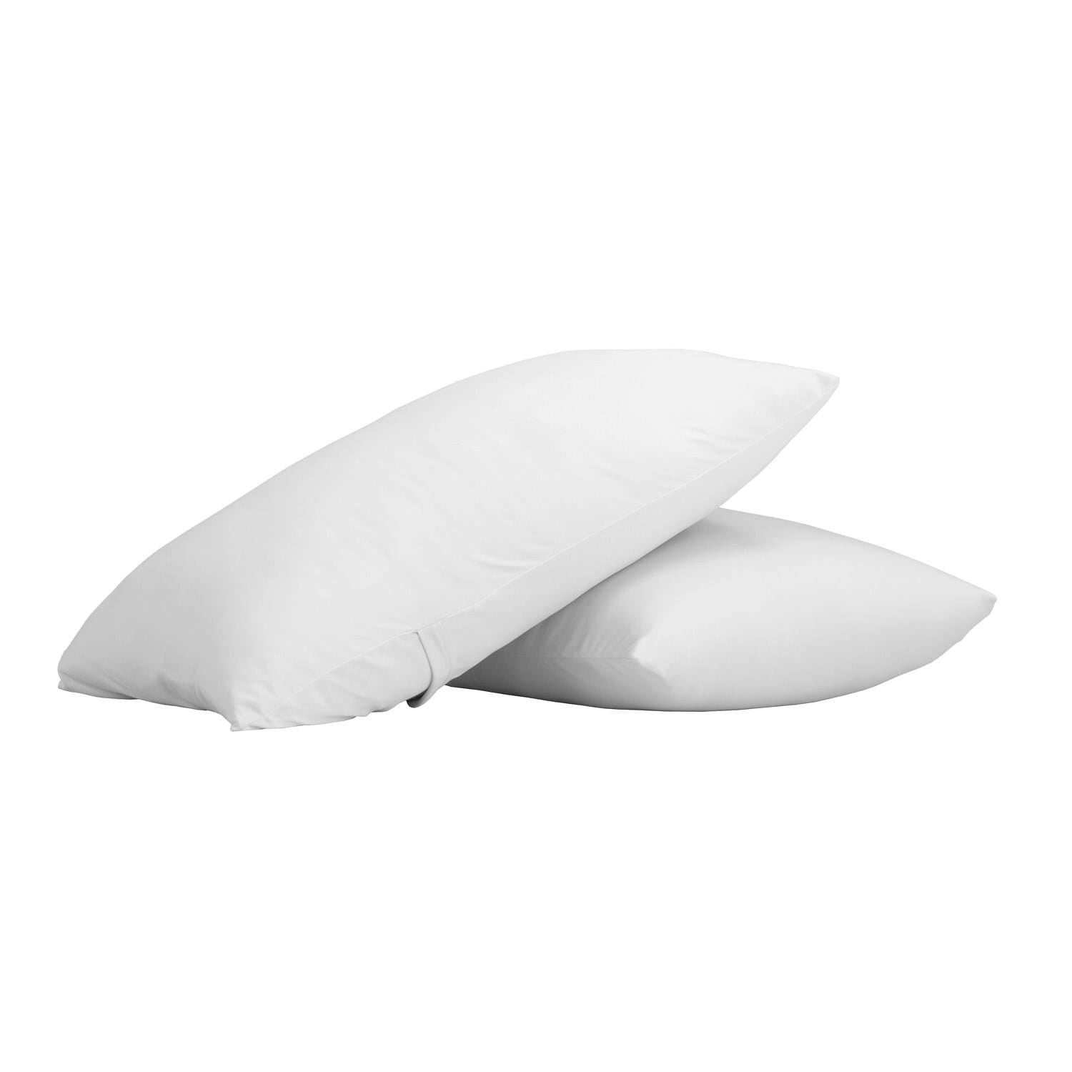 Microfiber Knitted 1500TC White Pillow Cases