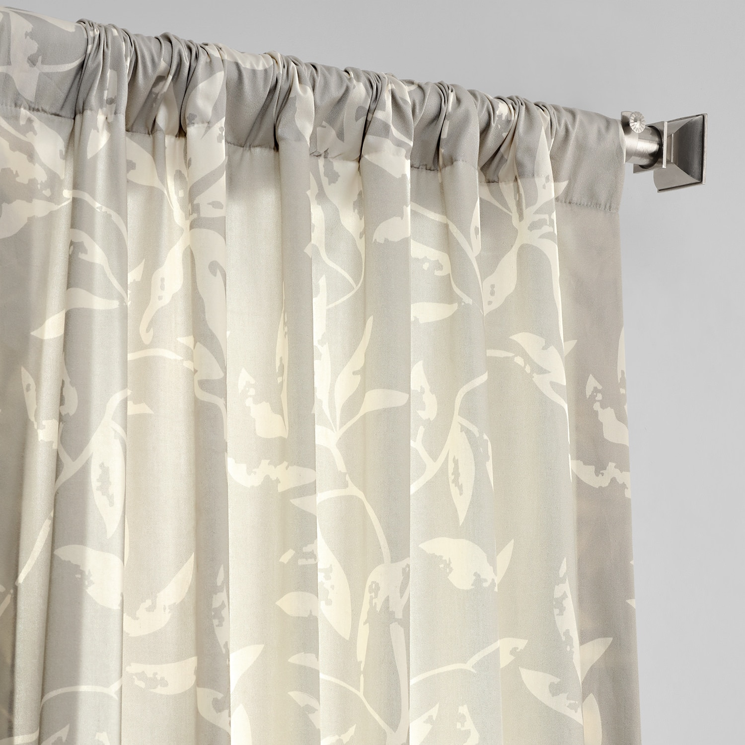 Bamboo Tan Digital Printed Cotton Twill Curtain