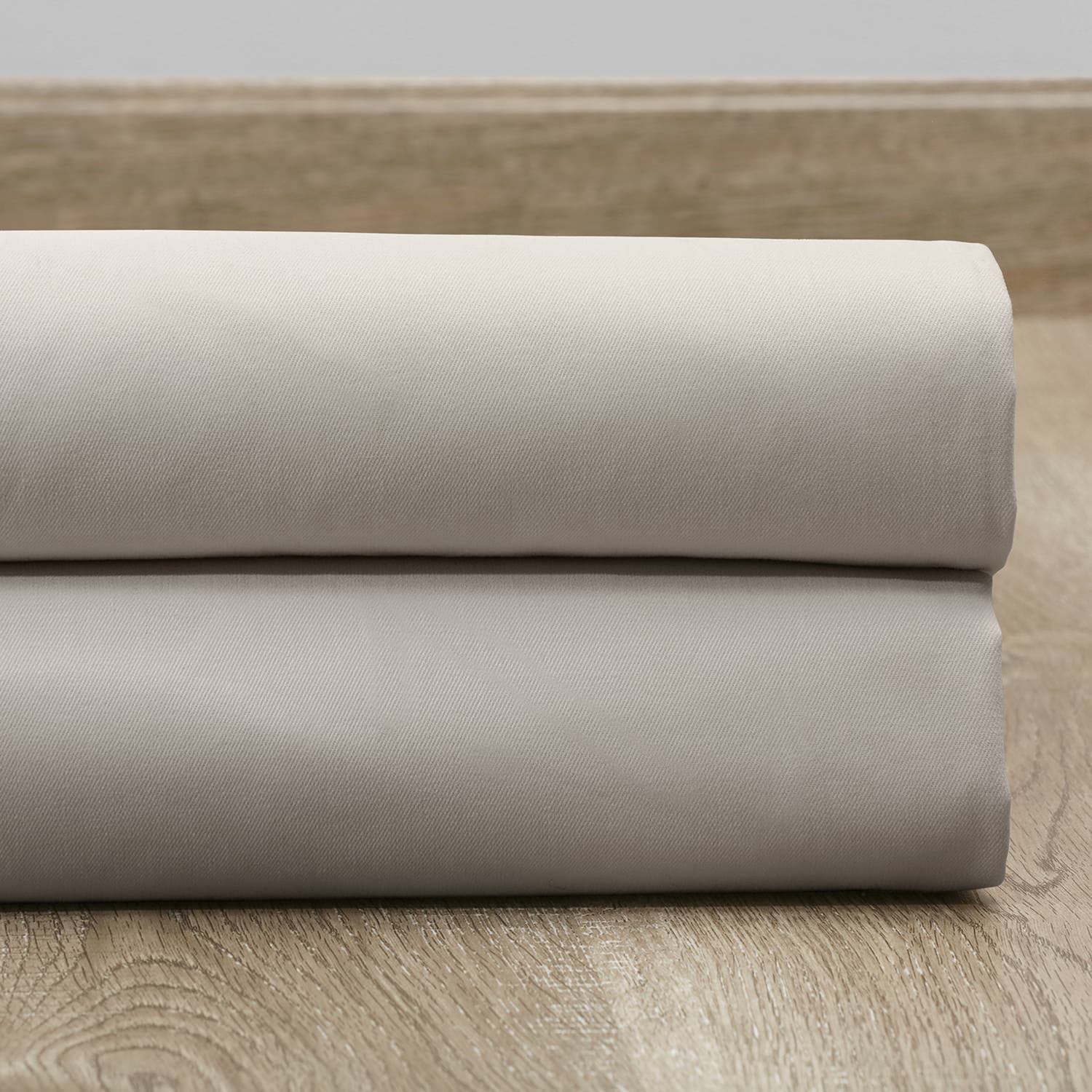 Hazelwood Beige Solid Cotton Fabric