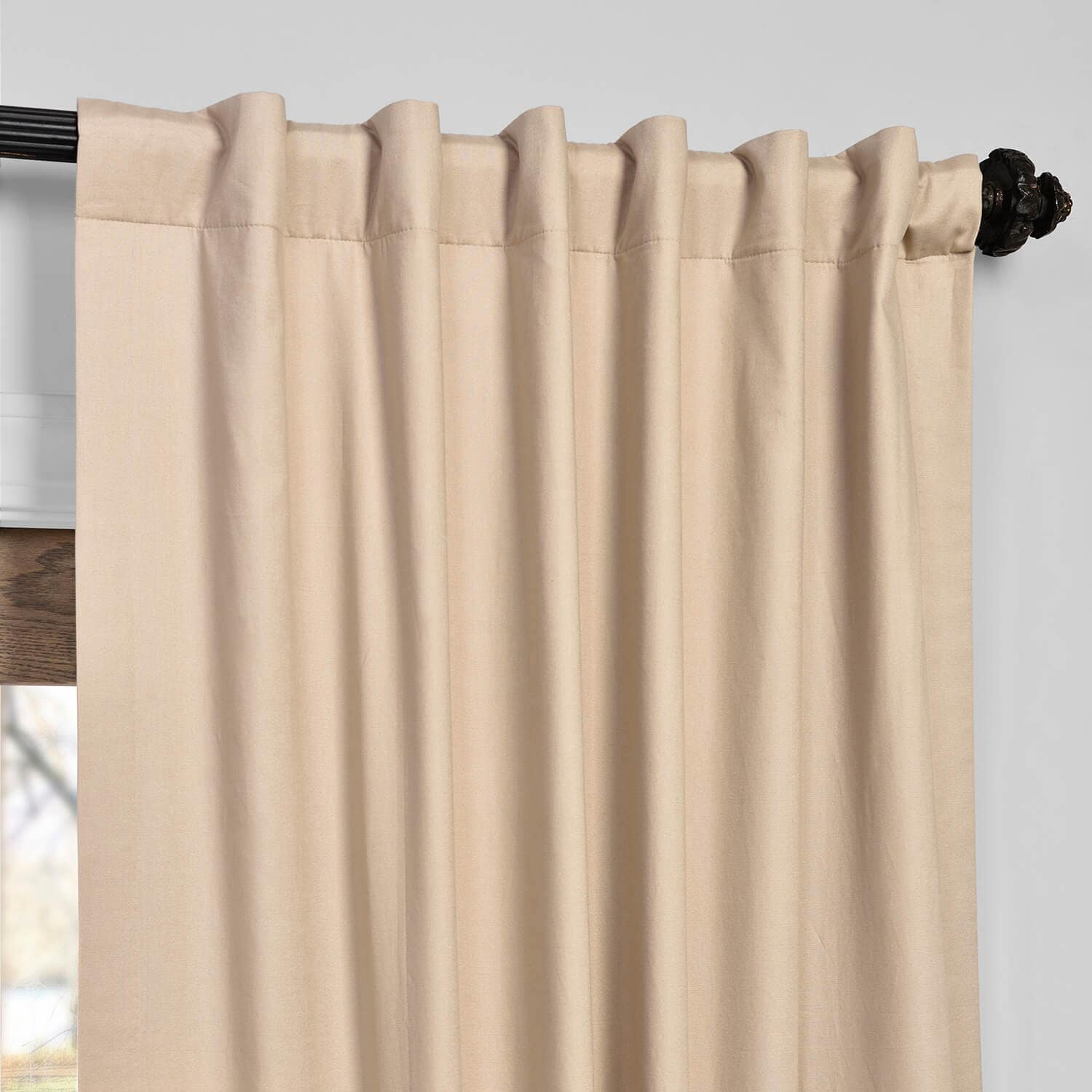 blackout fabrics exclusive seville on garden free inch over overstock curtain panel x curtains home orders shipping product grommet tan pair