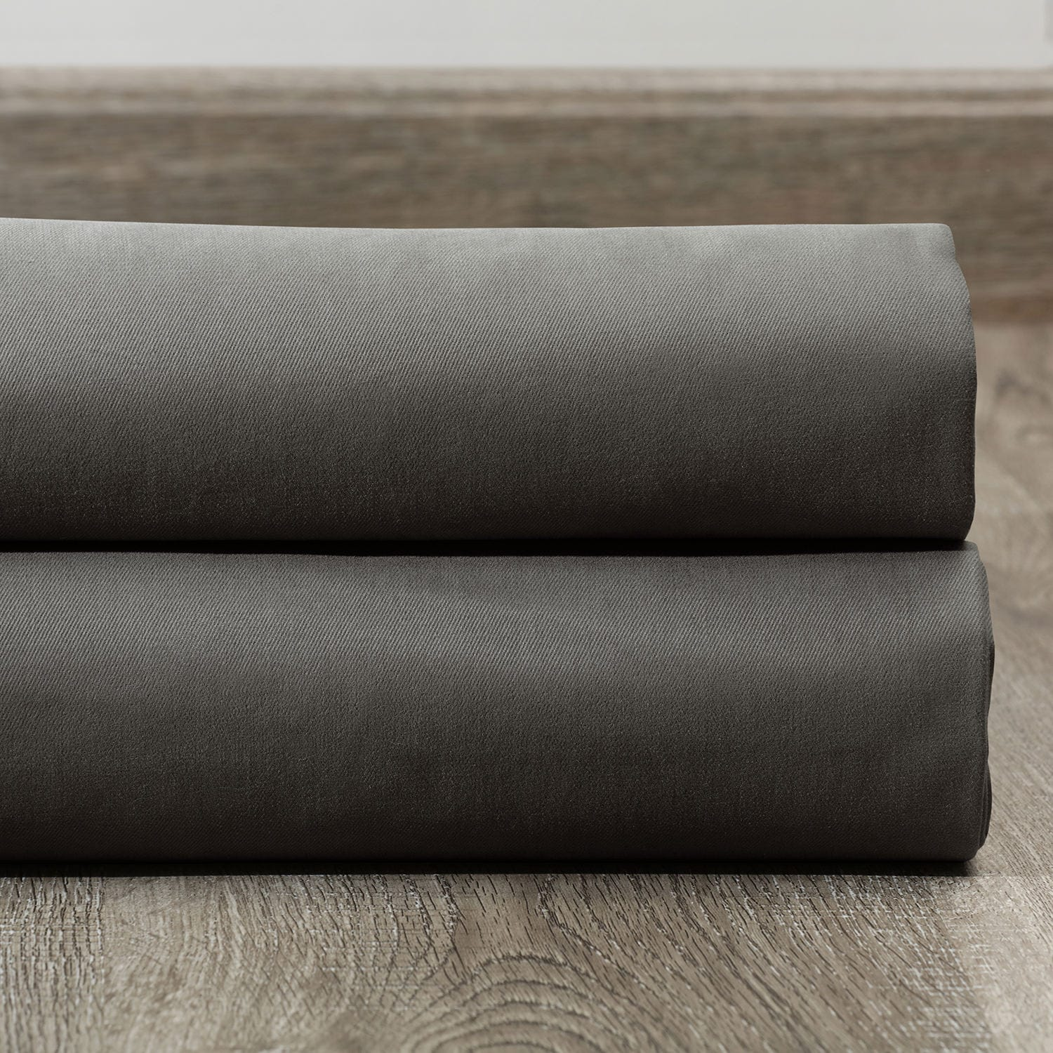 Millstone Gray Solid Cotton Fabric