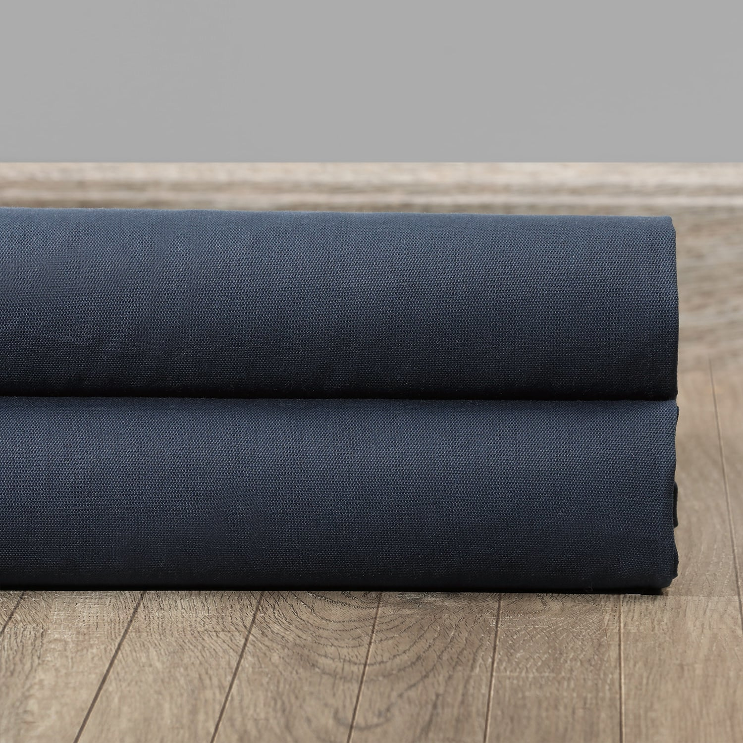 Polo Navy Solid Cotton Swatch